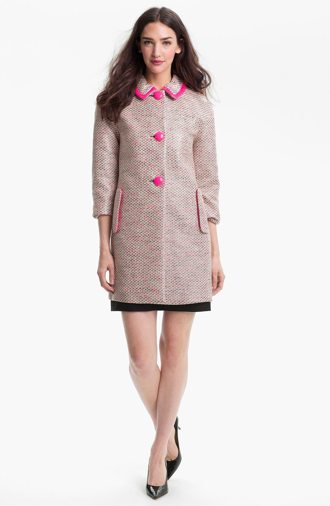 Alternate Image 1 Selected - kate spade new york 'pierce' coat