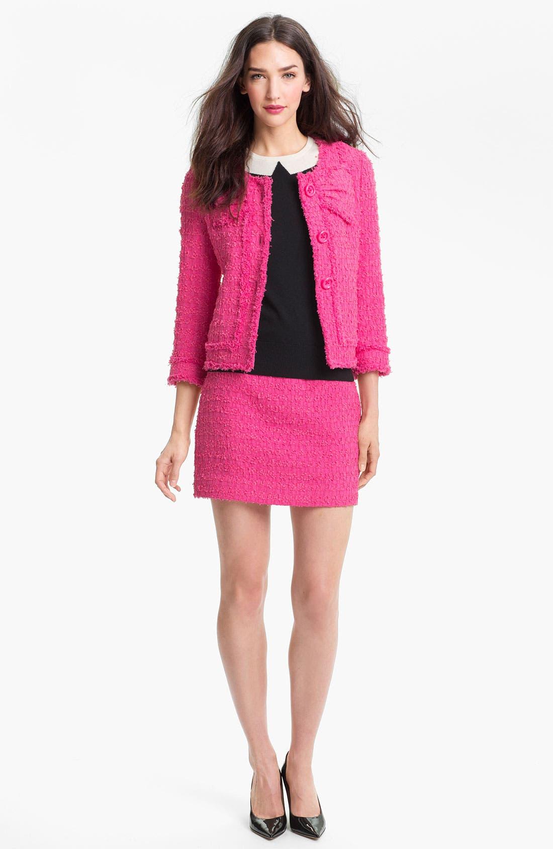 Alternate Image 4  - kate spade new york 'robbie' woven skirt