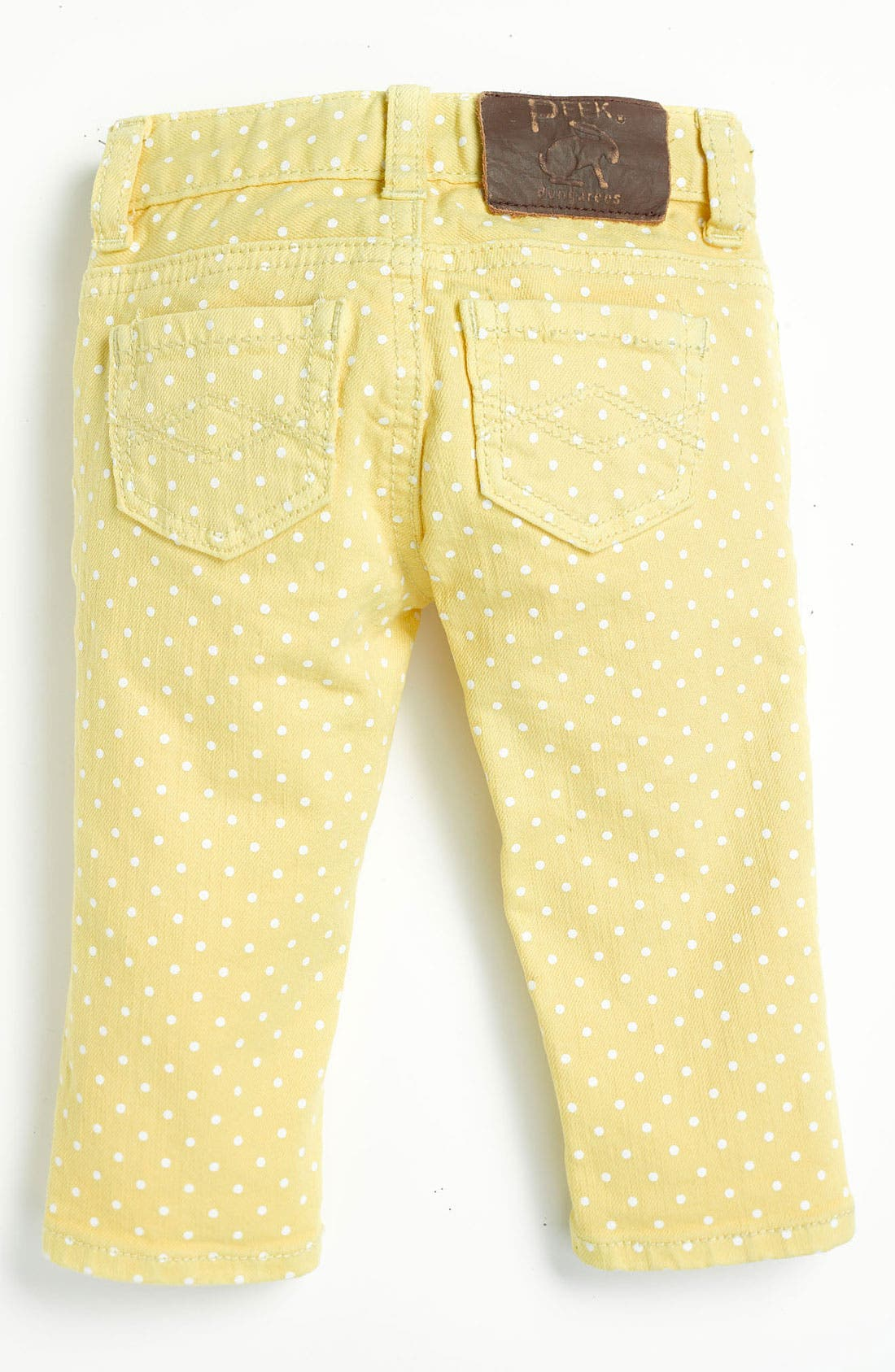 Alternate Image 1 Selected - Peek 'Maya' Skinny Jeans (Infant)