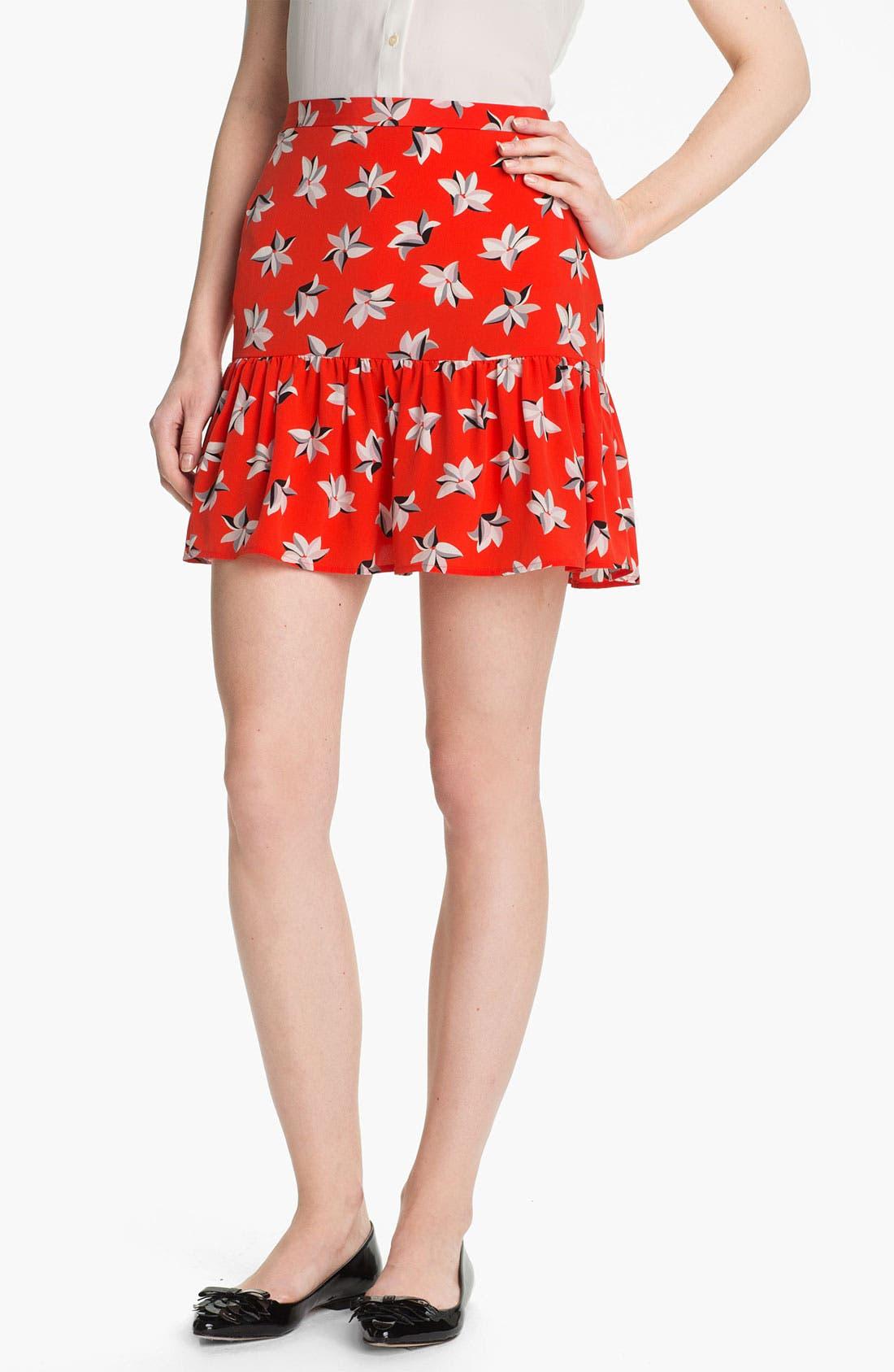Alternate Image 1 Selected - Joie 'Sisily' Silk Skirt