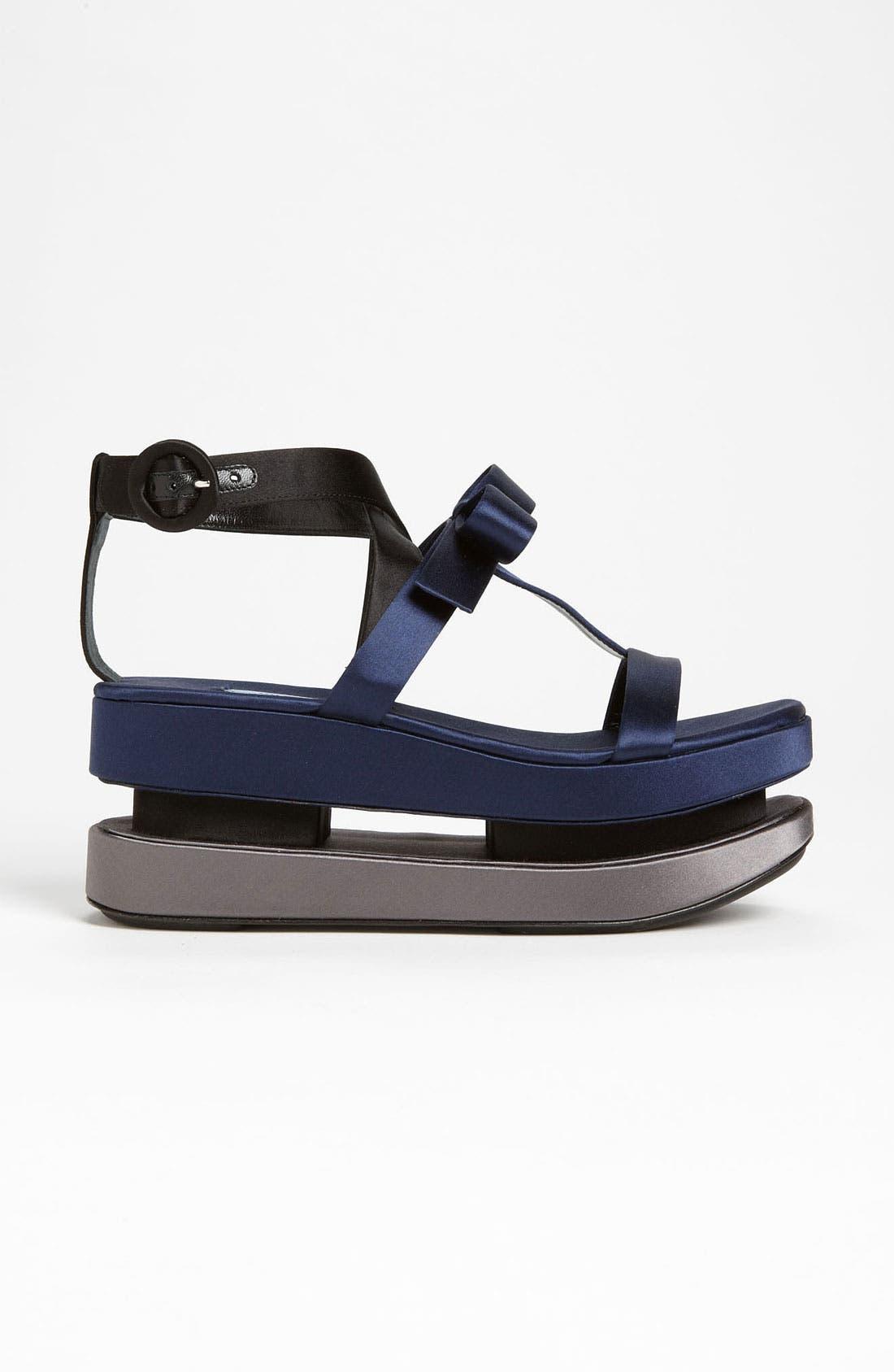 Alternate Image 4  - Prada T-Strap Platform Sandal