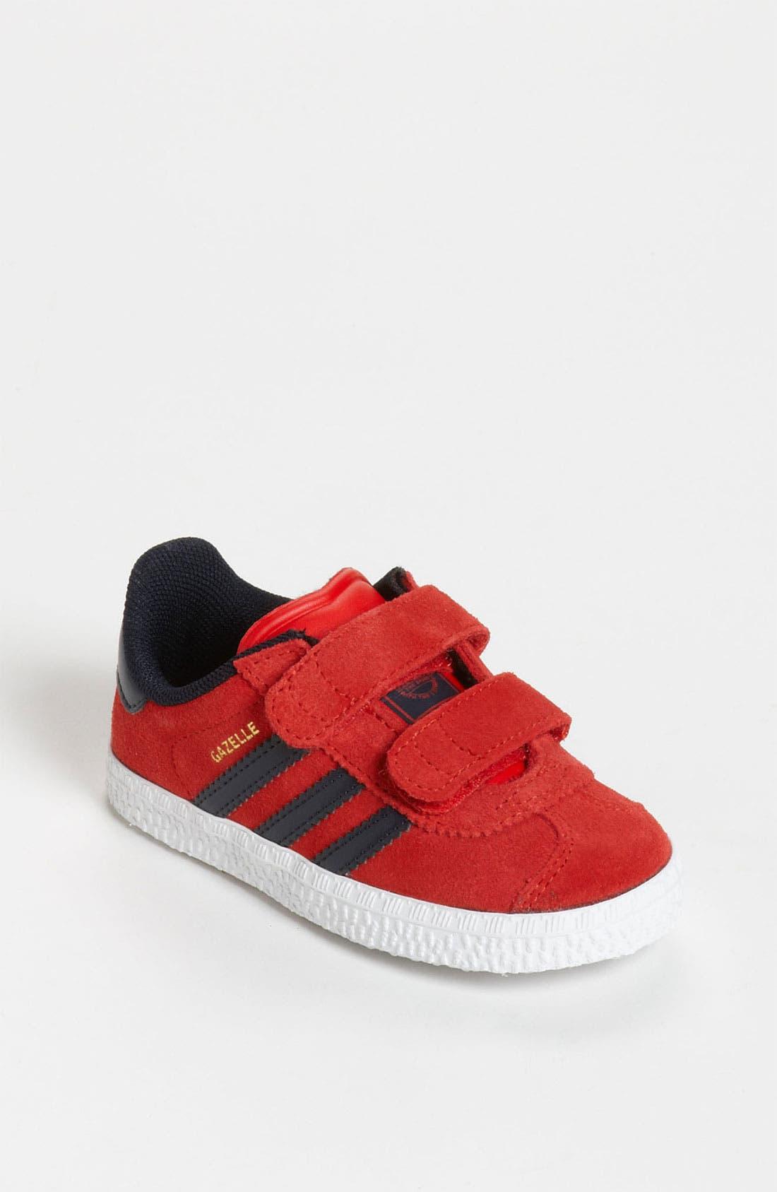 Alternate Image 1 Selected - adidas 'Gazelle' Sneaker (Baby, Walker & Toddler)