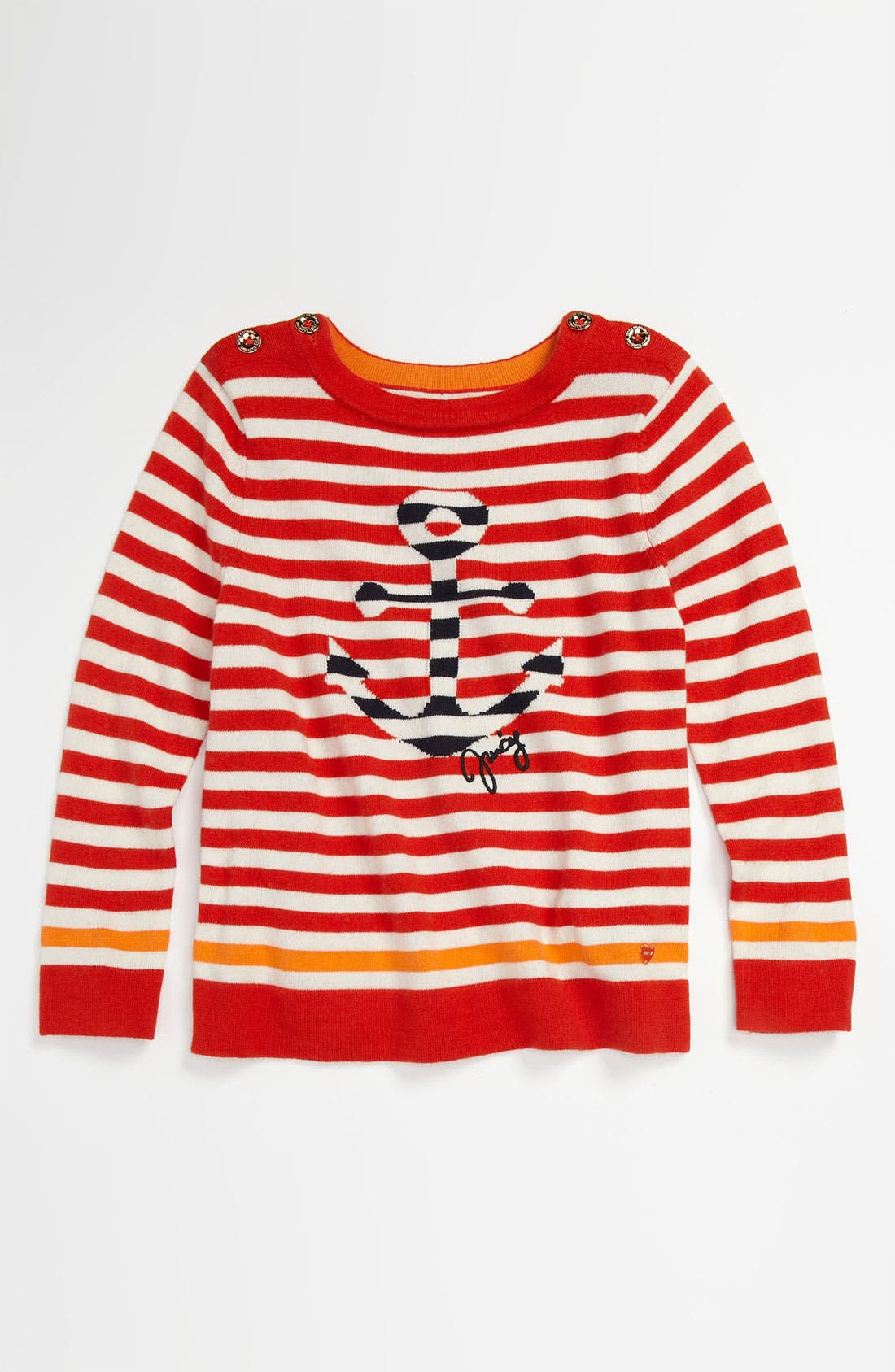 Alternate Image 1 Selected - Juicy Couture Sailor Pullover (Little Girls & Big Girls)