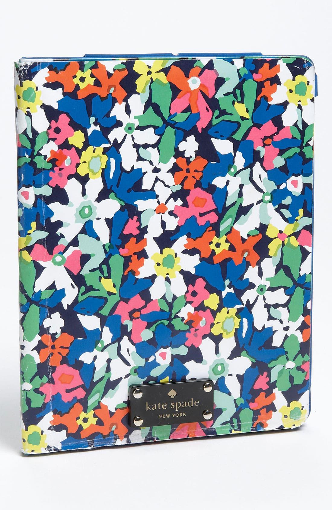 Main Image - kate spade new york 'margherita' floral iPad case