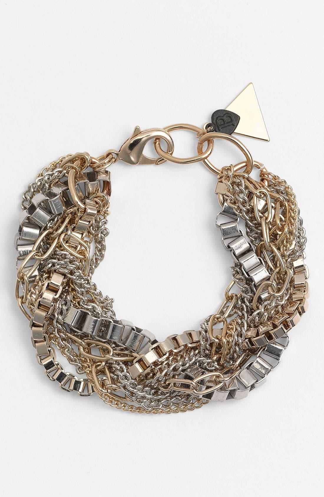 Main Image - Bonnie Jonas Mixed Chain Bracelet