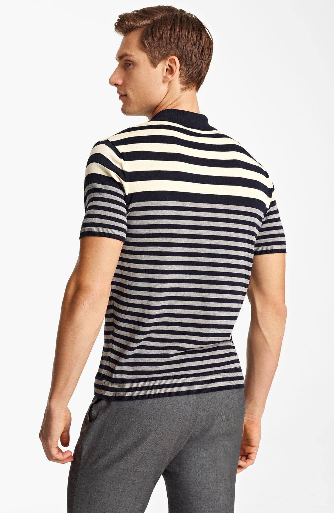 Alternate Image 2  - PS Paul Smith Stripe Knit Polo