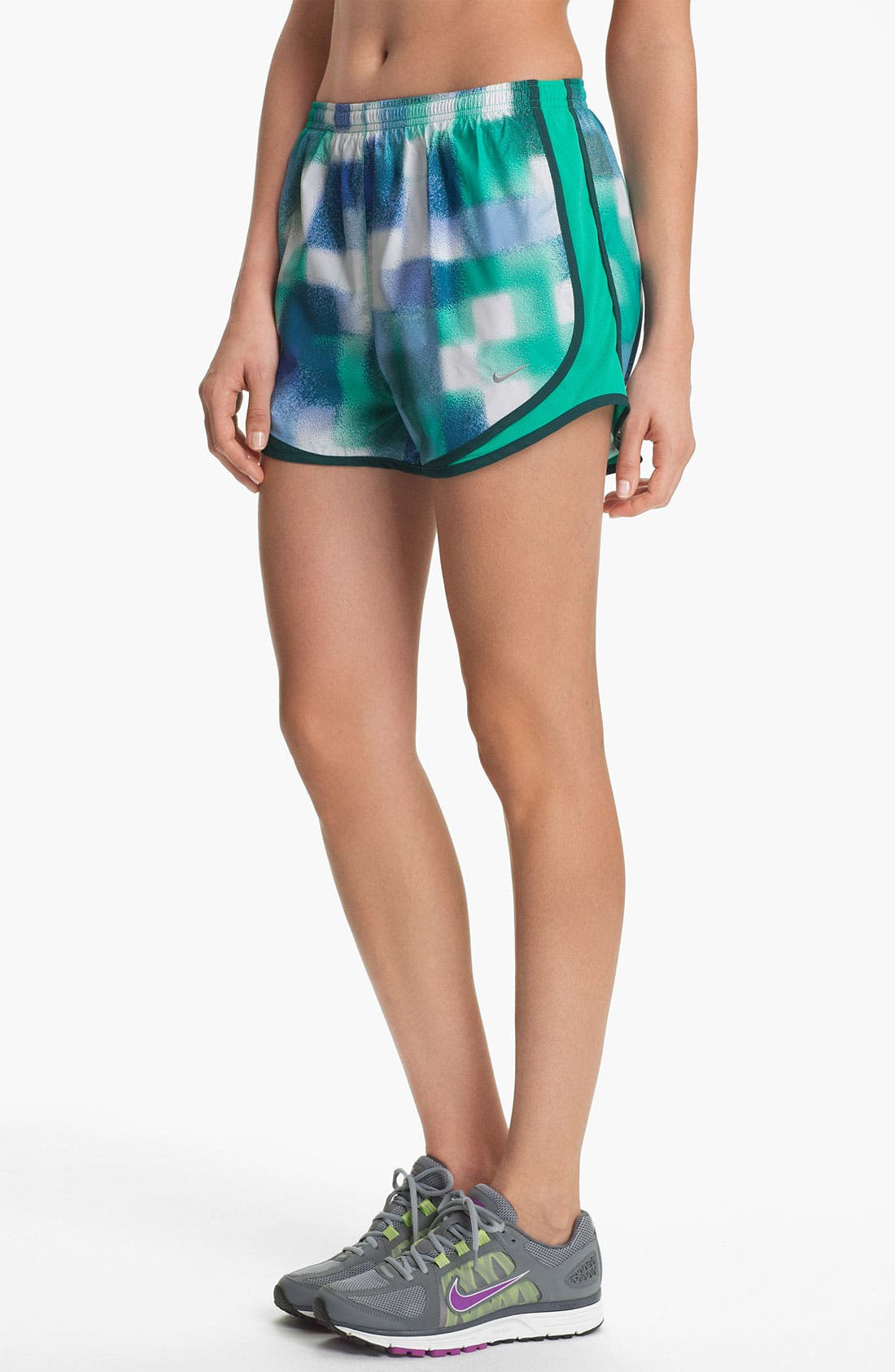 Alternate Image 1 Selected - Nike 'Tempo' Print Running Shorts