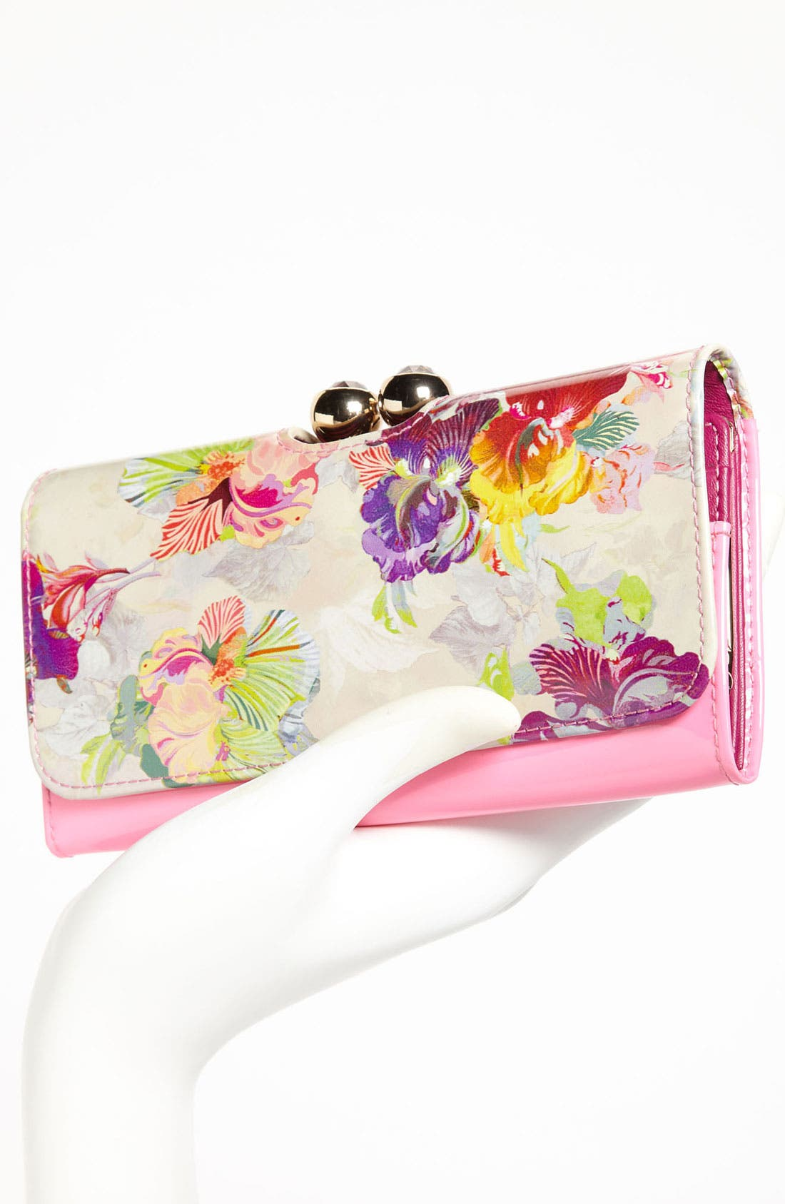 Alternate Image 2  - Ted Baker London 'Treasured Orchid Crystal Bobble' Matinee Wallet