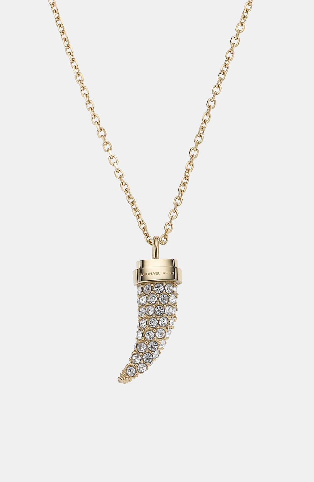 Alternate Image 2  - Michael Kors 'Brilliance' Pendant Necklace