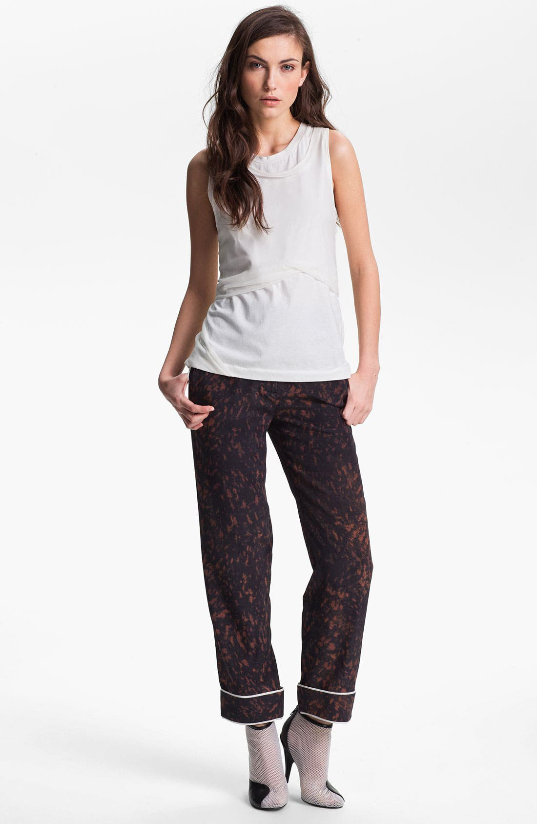 Alternate Image 1 Selected - 3.1 Phillip Lim Twisted & Layered Top