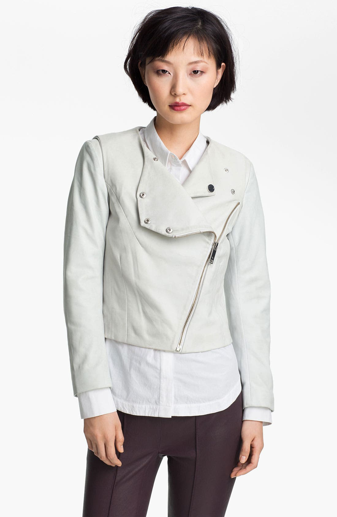 Alternate Image 3  - Twenty8Twelve 'Rae' Leather Jacket
