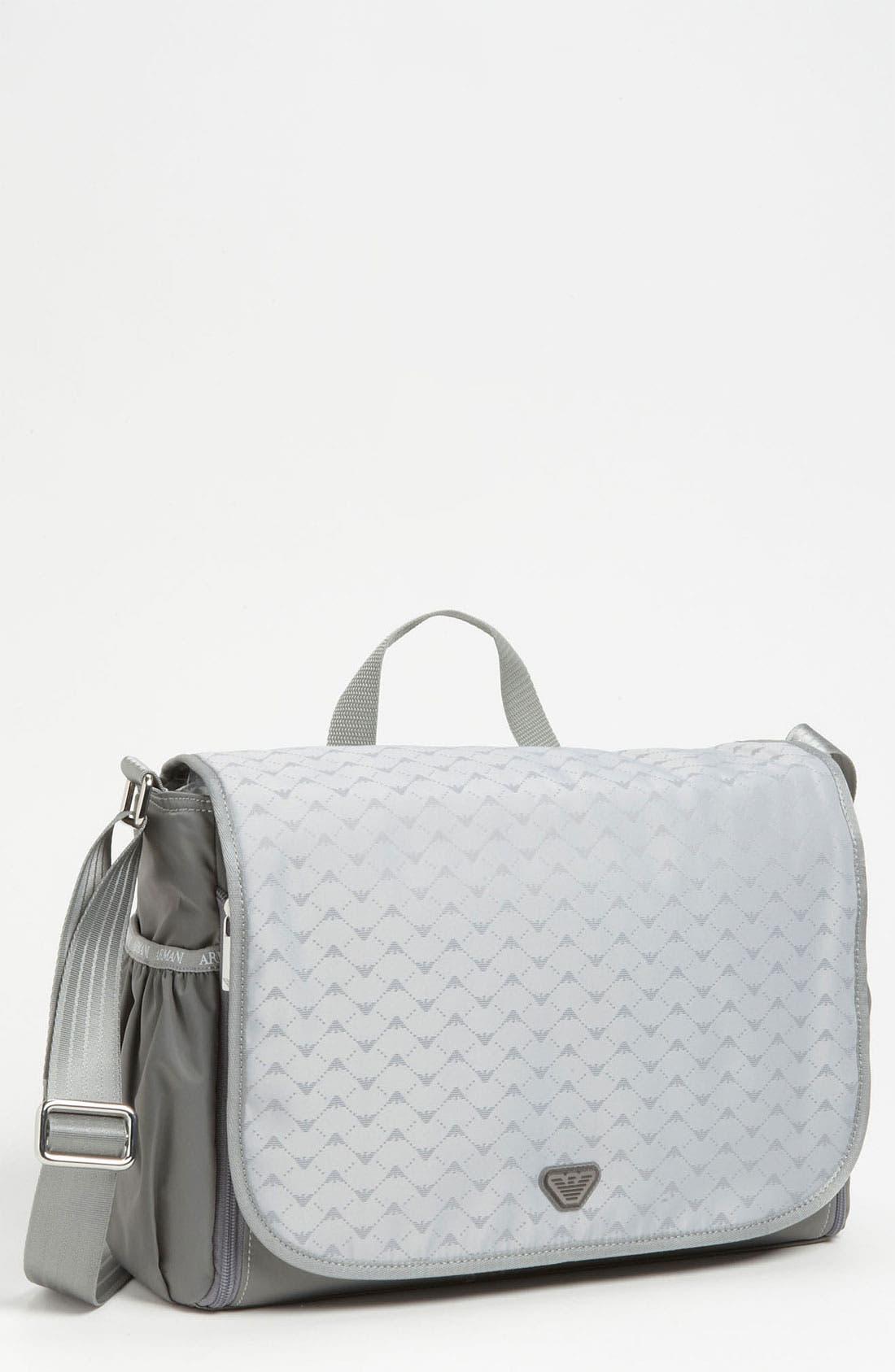 Alternate Image 1 Selected - Armani Junior Diaper Bag