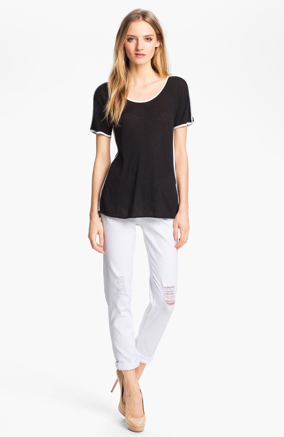 Alternate Image 7  - rag & bone/JEAN 'The Dash' Slouchy Skinny Jeans