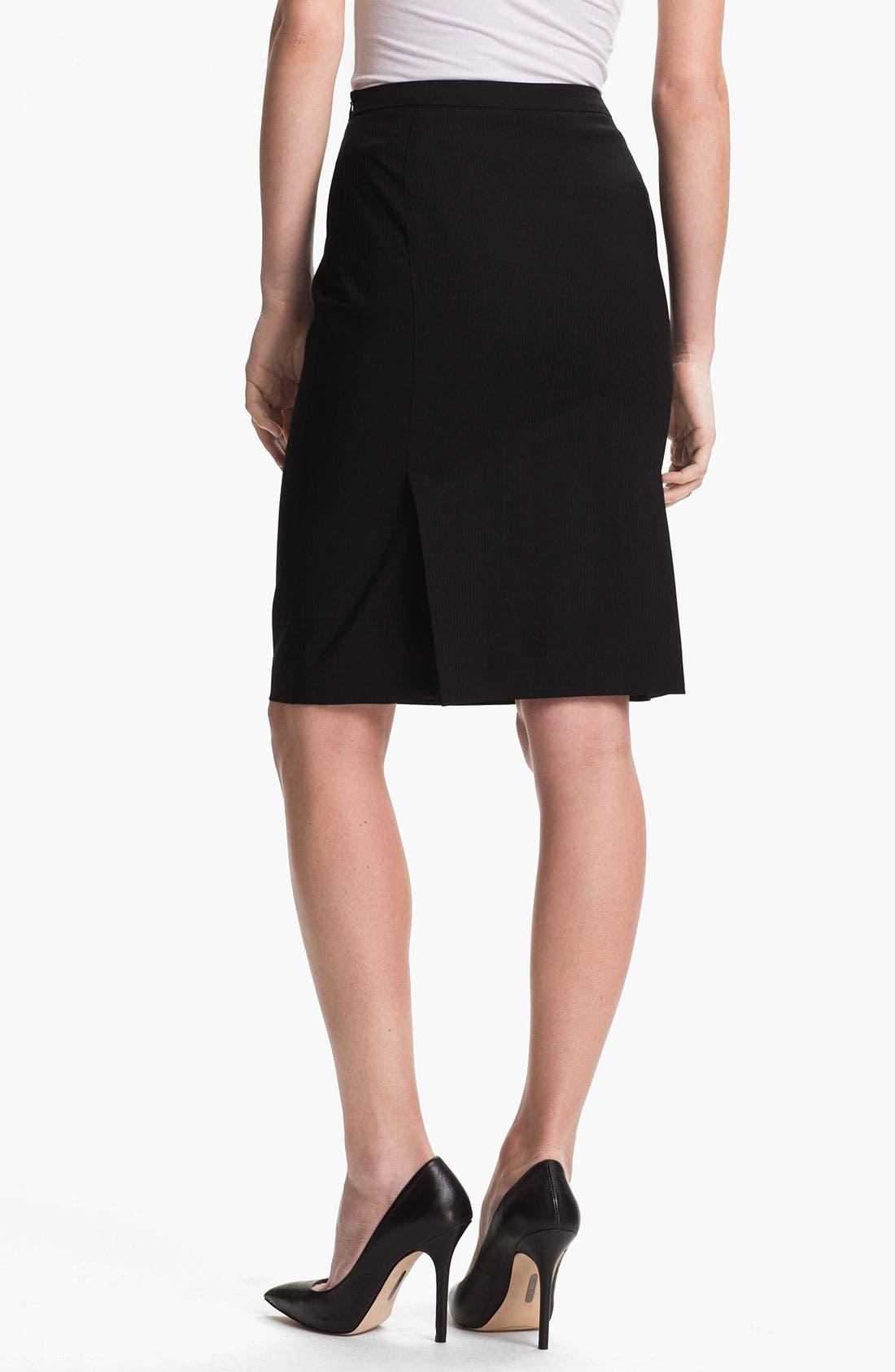 Alternate Image 2  - Zanella 'Carol' Virgin Wool Skirt