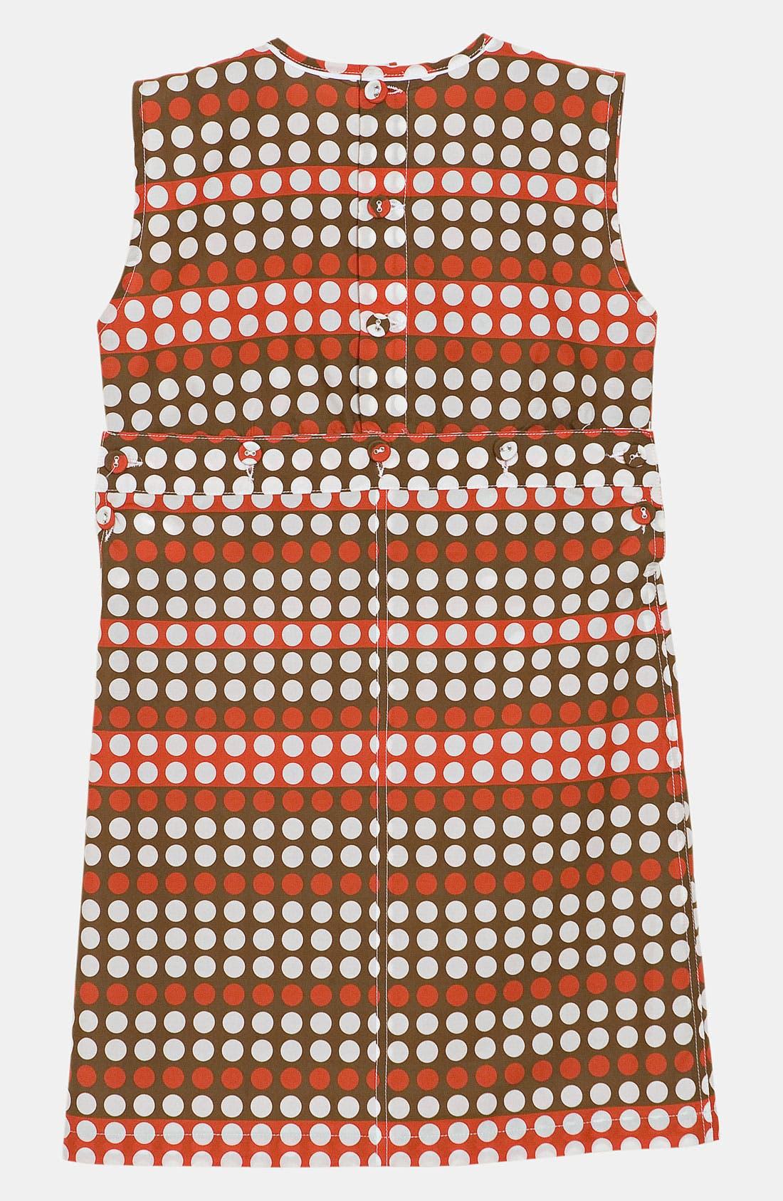 Alternate Image 2  - Marni Polka Dot Dress (Little Girls & Big Girls)