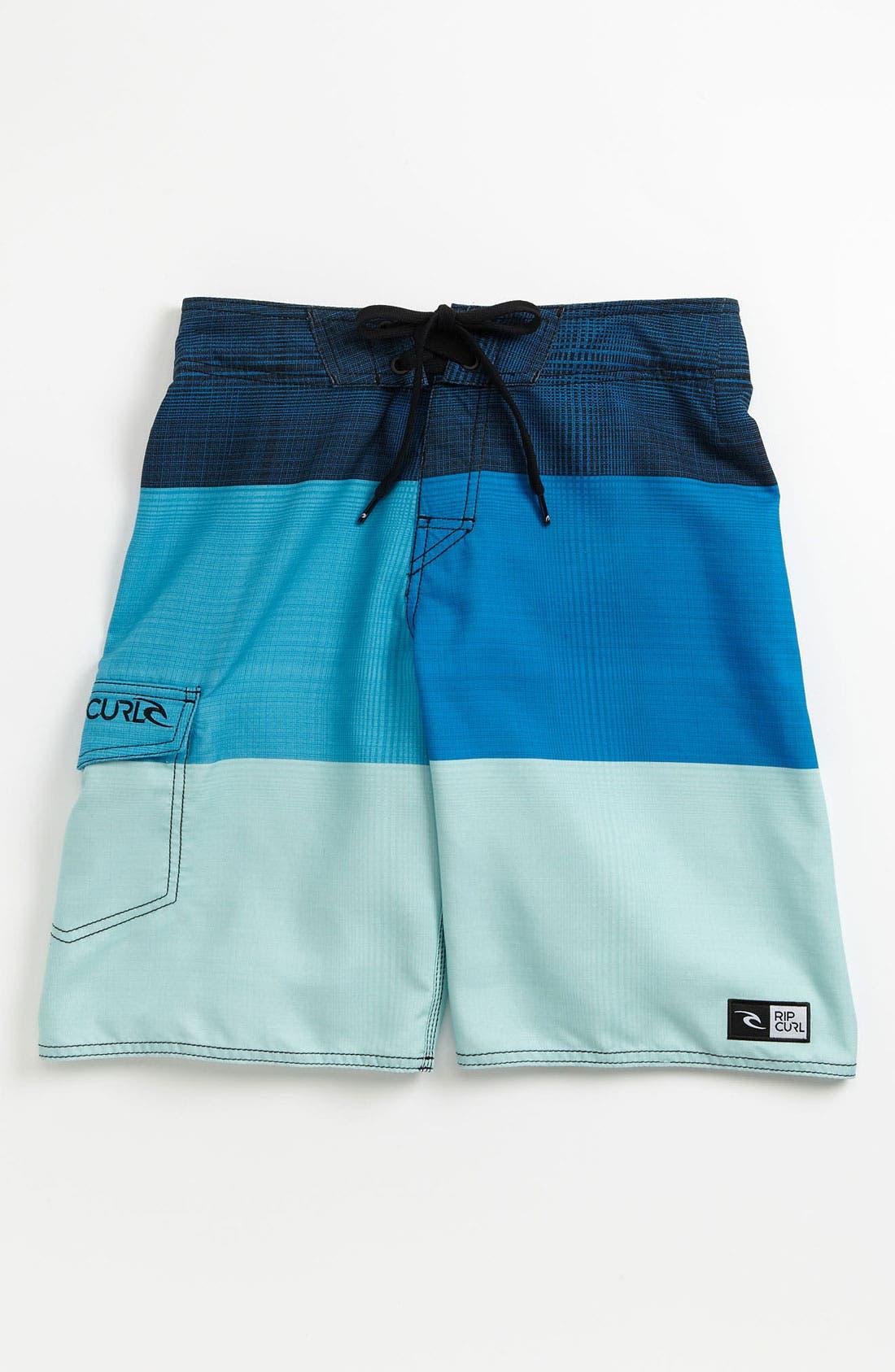 Main Image - Rip Curl 'Aggrosection' Board Shorts (Big Boys)