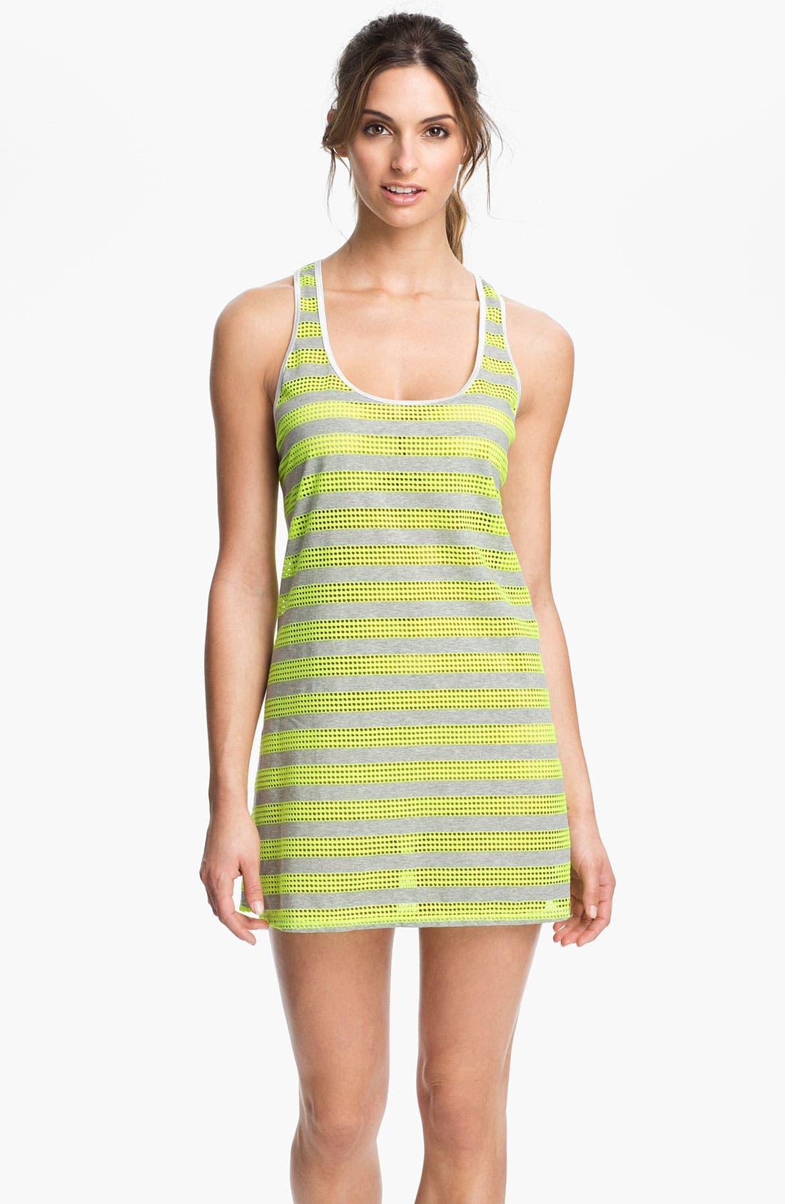 Alternate Image 1 Selected - Nike Stripe Mesh Dress