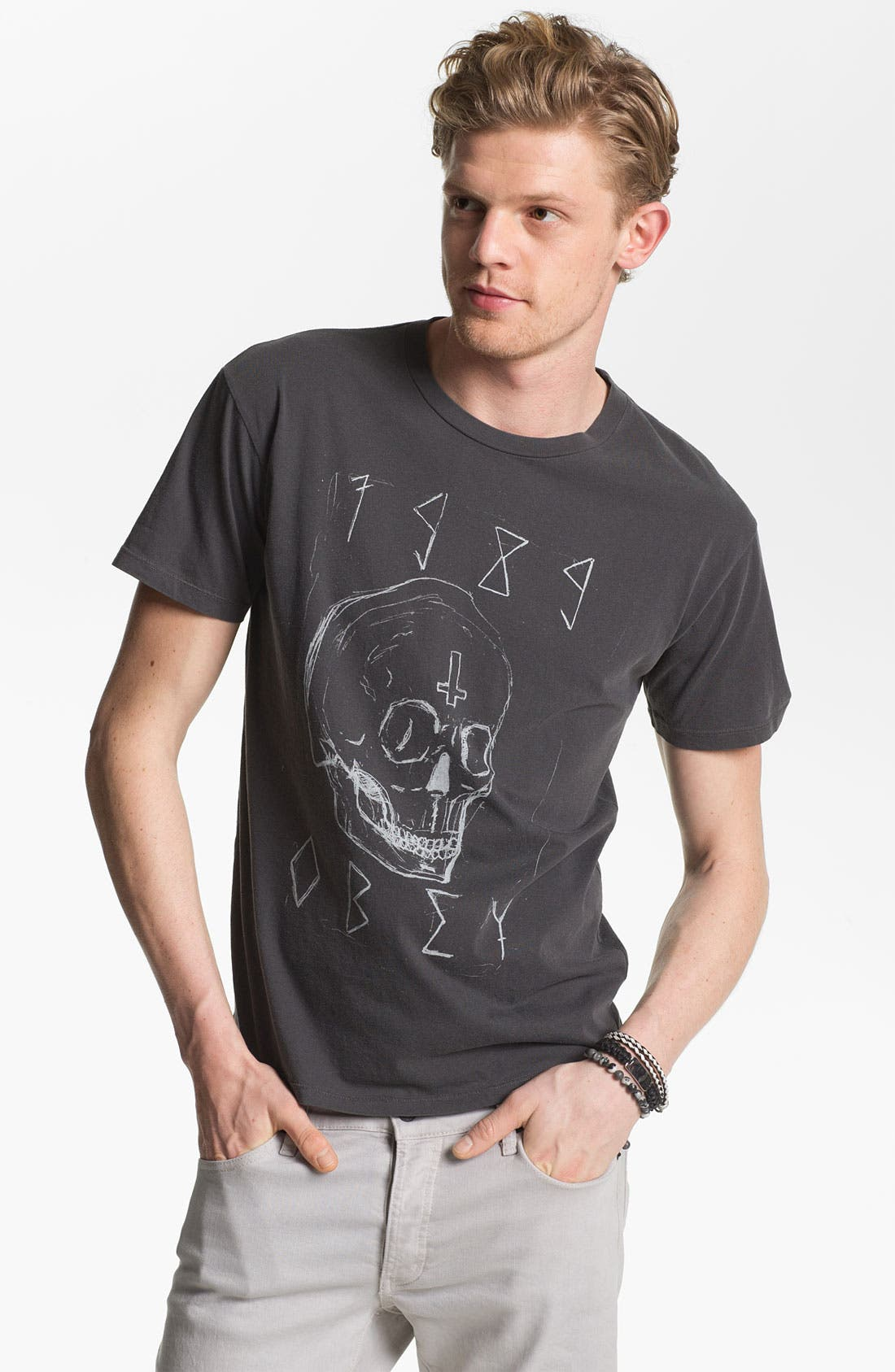 Alternate Image 1 Selected - Obey 'Deadly Skull' Graphic T-Shirt