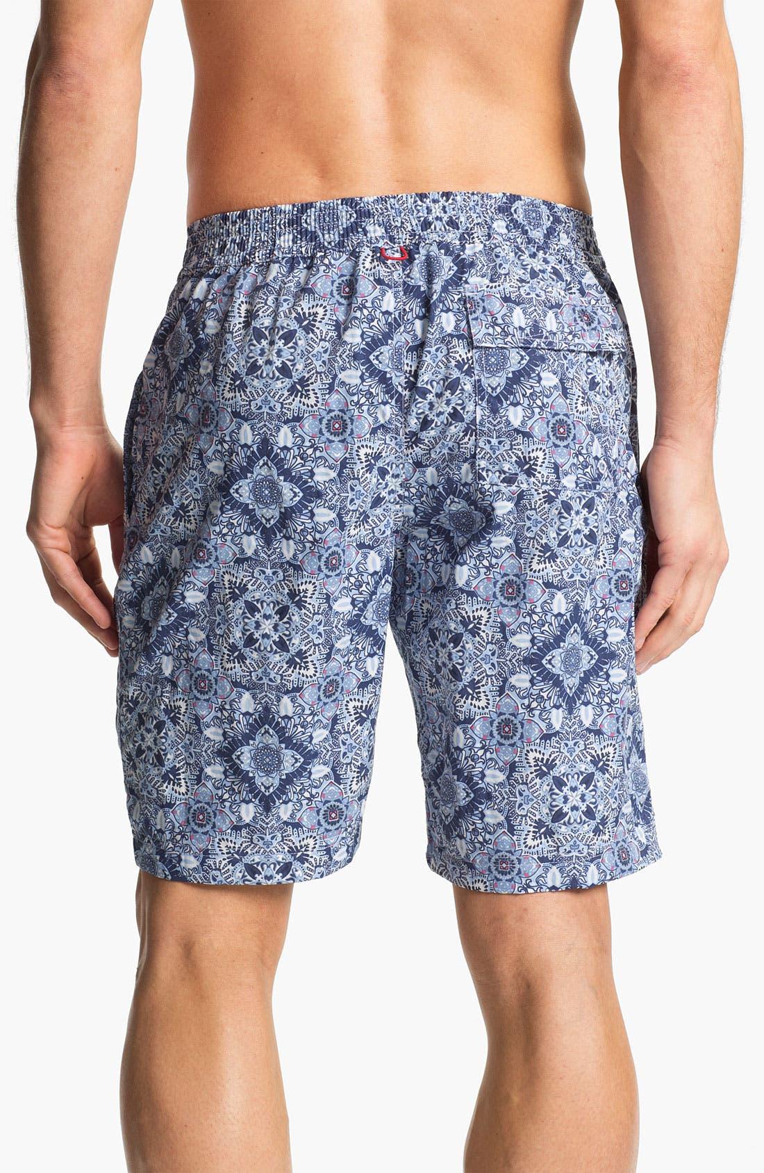 Alternate Image 2  - Maker & Company 'Full Monte' Swim Shorts (Online Only)