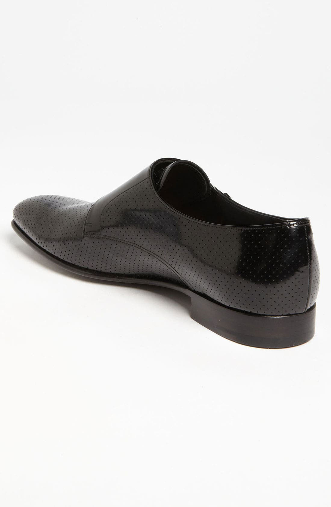 Alternate Image 2  - Prada Perforated Double Monk Strap Slip-On