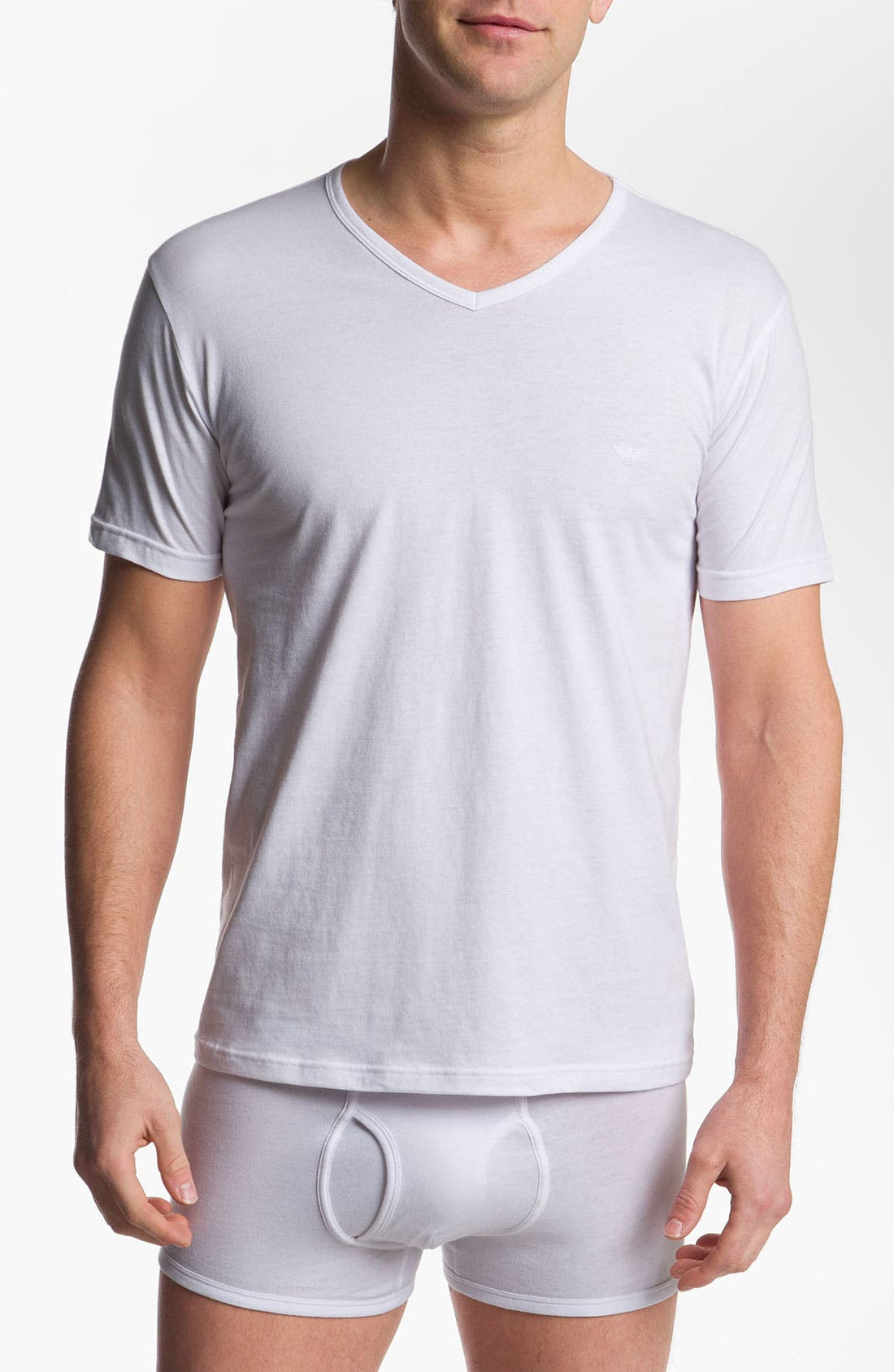 Alternate Image 1 Selected - Emporio Armani 3-Pack T-Shirt