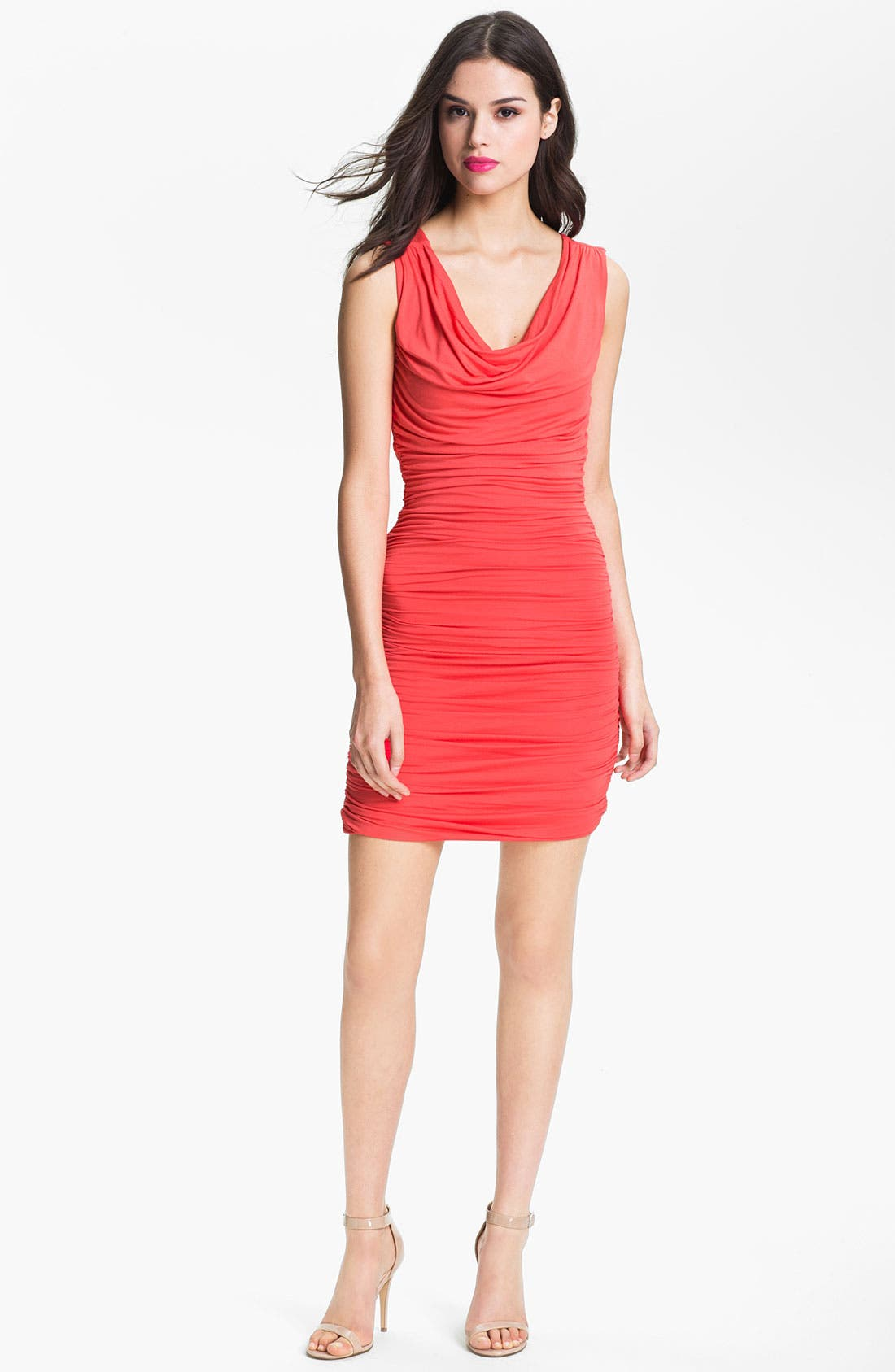 Main Image - Felicity & Coco Ruched Jersey Minidress (Nordstrom Exclusive)