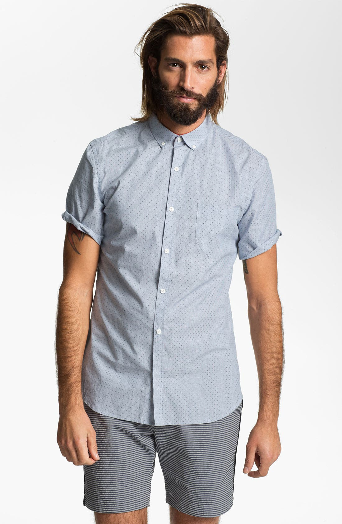 Main Image - French Connection Regular Fit Sport Shirt (Online Only)
