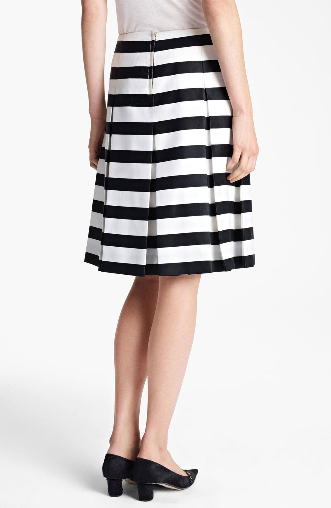 Alternate Image 3  - MARC JACOBS Large Stripe Satin Gabardine Skirt