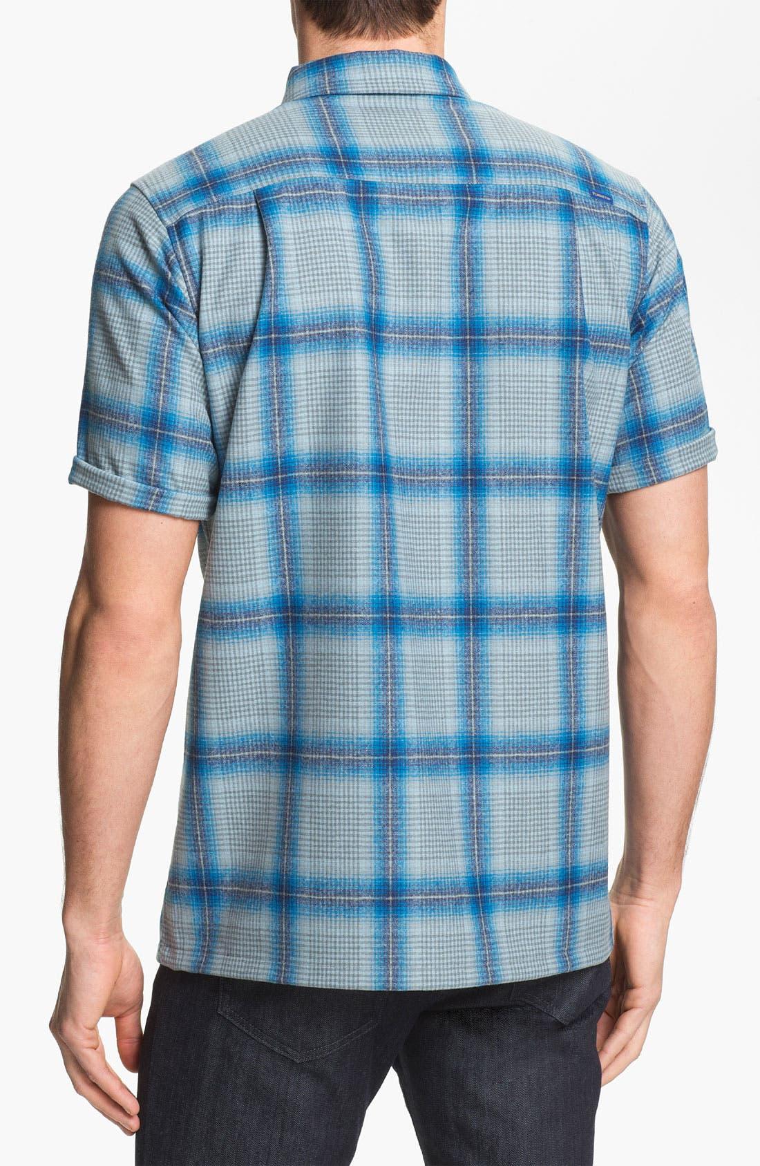 Alternate Image 2  - Pendleton 'Board' Fitted Short Sleeve Wool Shirt