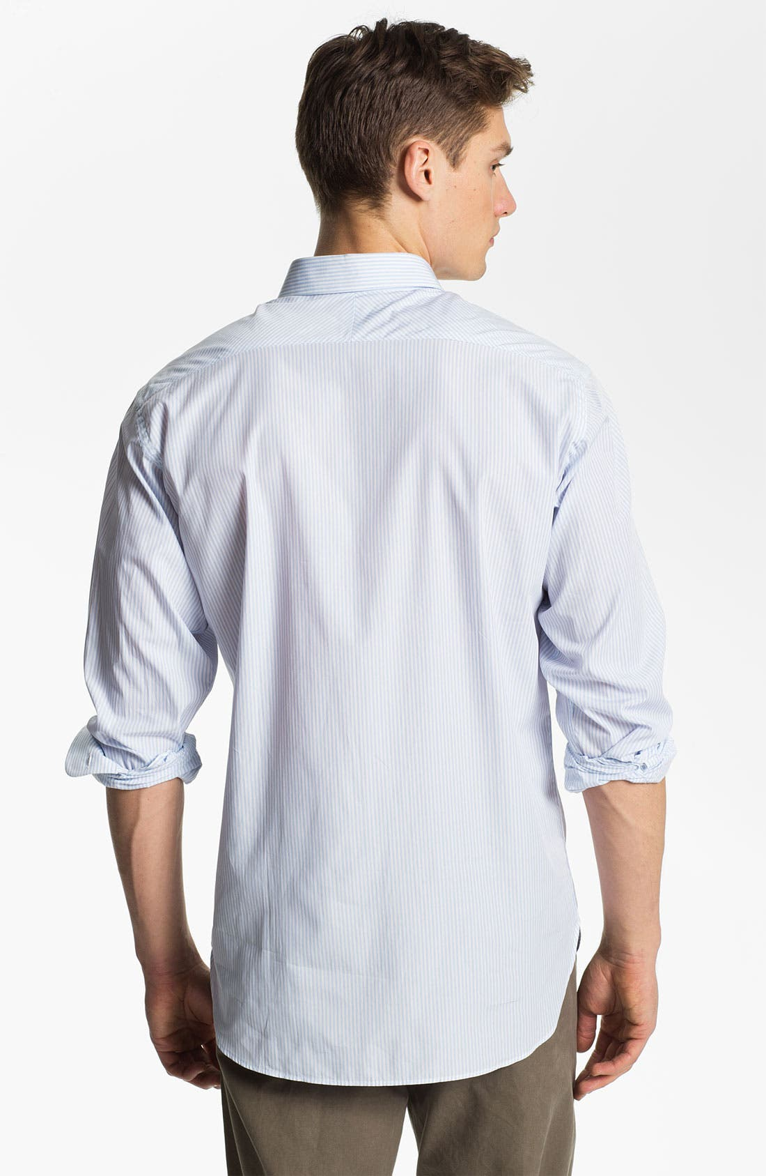 Alternate Image 2  - Billy Reid 'John T' Stripe Sport Shirt