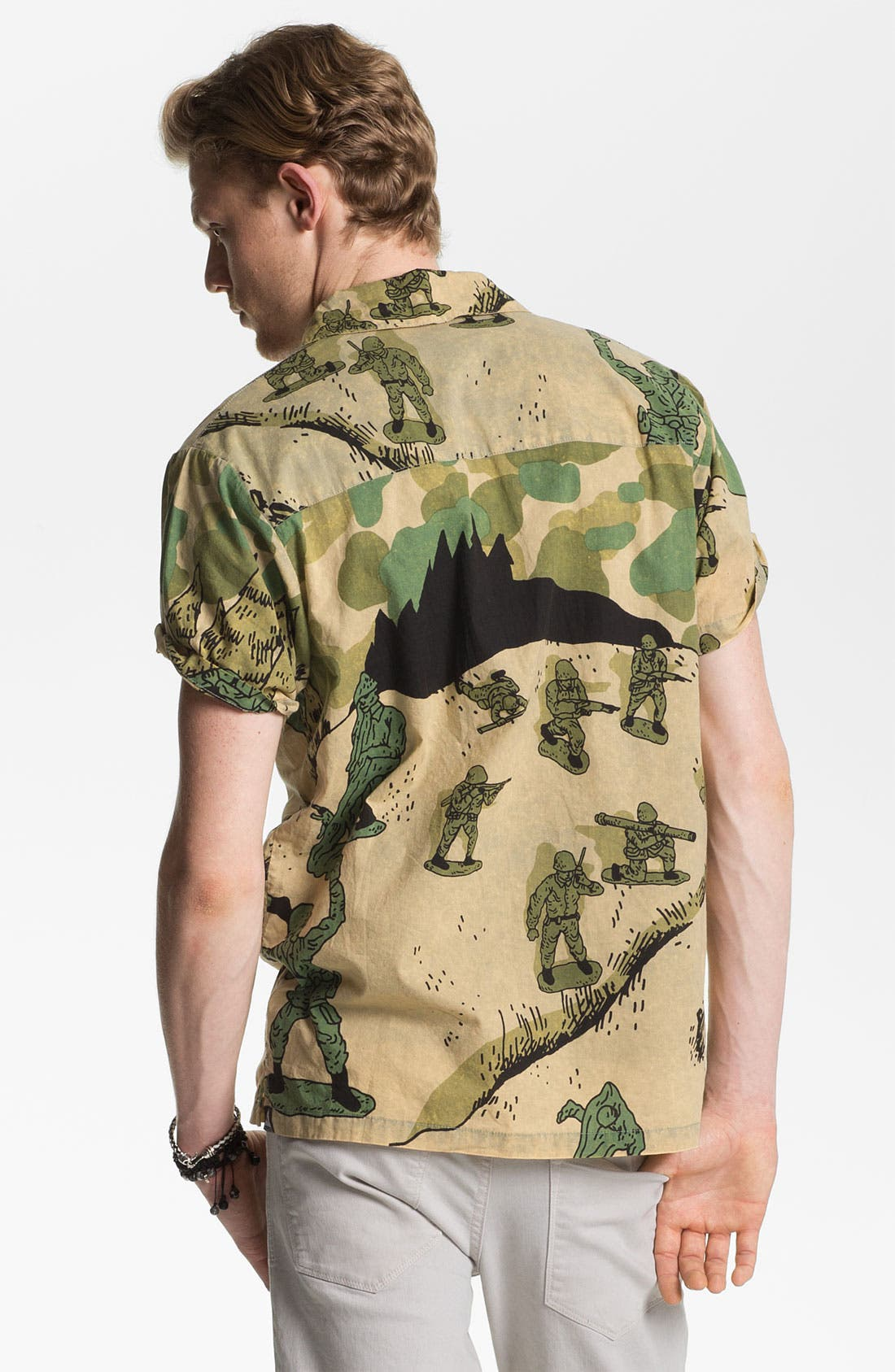 Alternate Image 3  - Vanguard 'Toy Soldiers' Print Woven Shirt