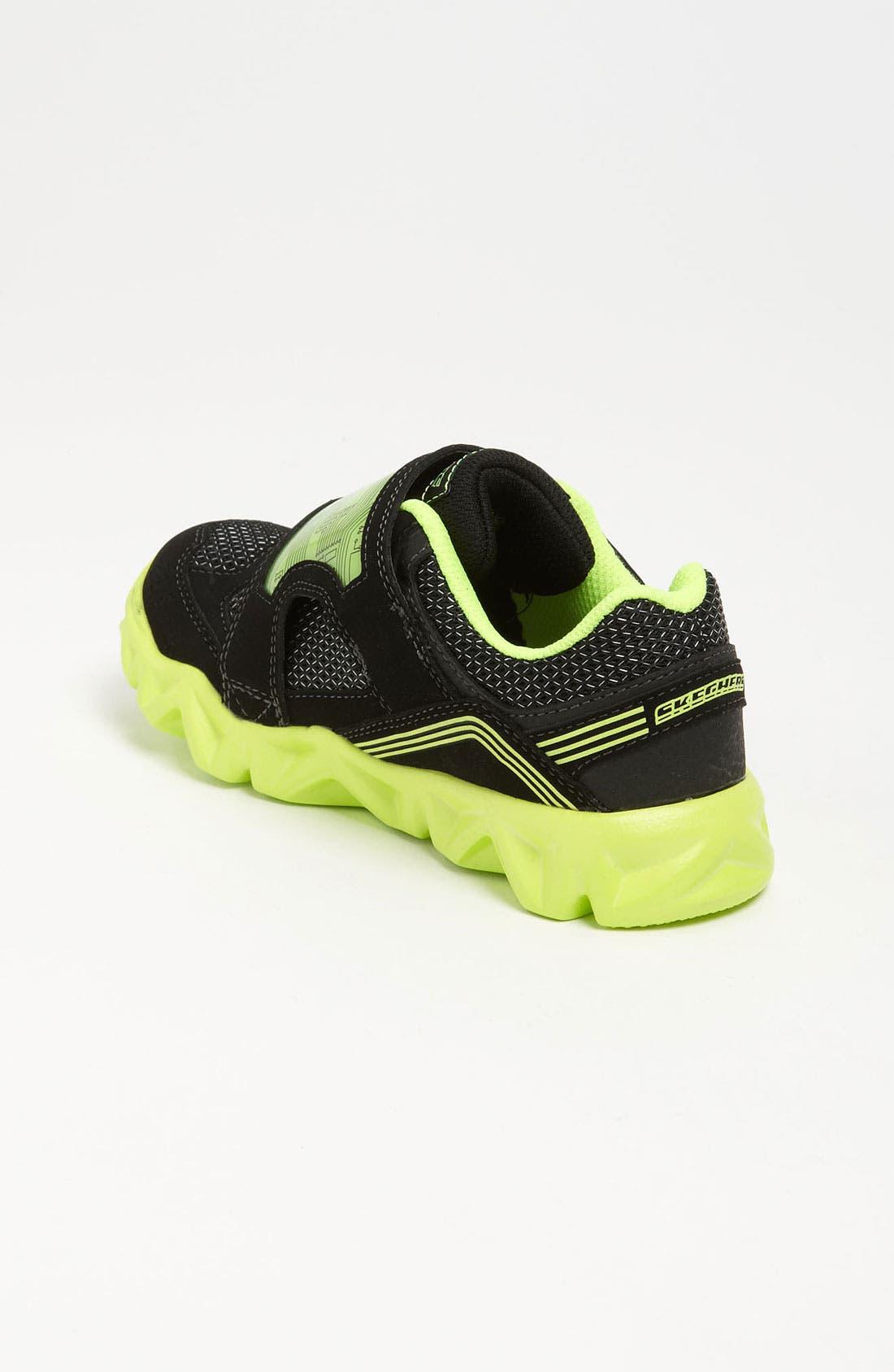 Alternate Image 2  - SKECHERS 'S Lights - Datarox' Light-Up Sneaker (Toddler & Little Kid)