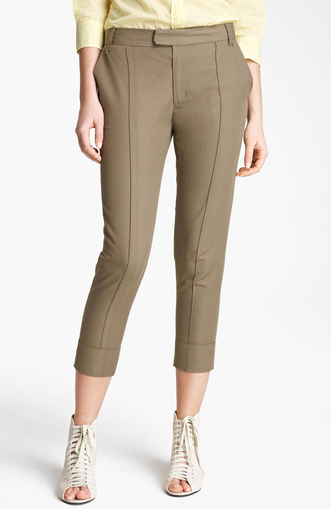 Alternate Image 1 Selected - Band of Outsiders Skinny Crop Pants