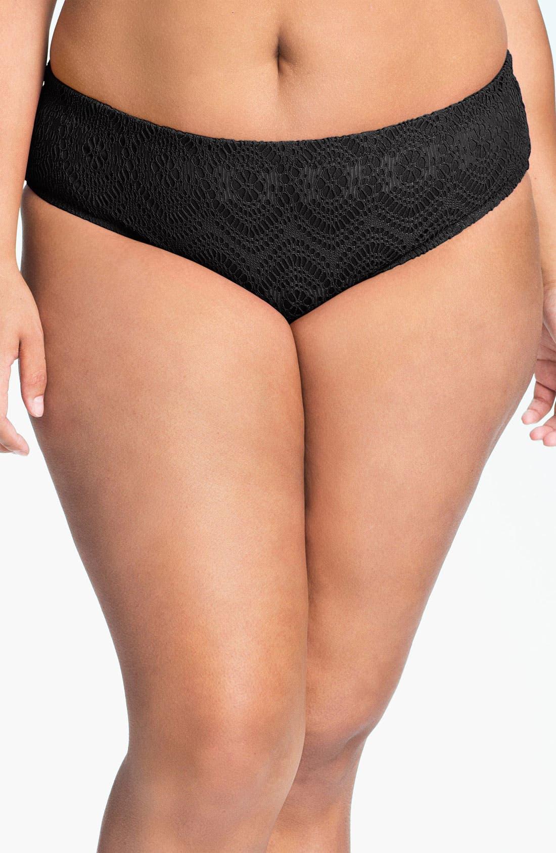 Main Image - Becca Etc. 'Marbella' Bikini Bottoms (Plus Size)