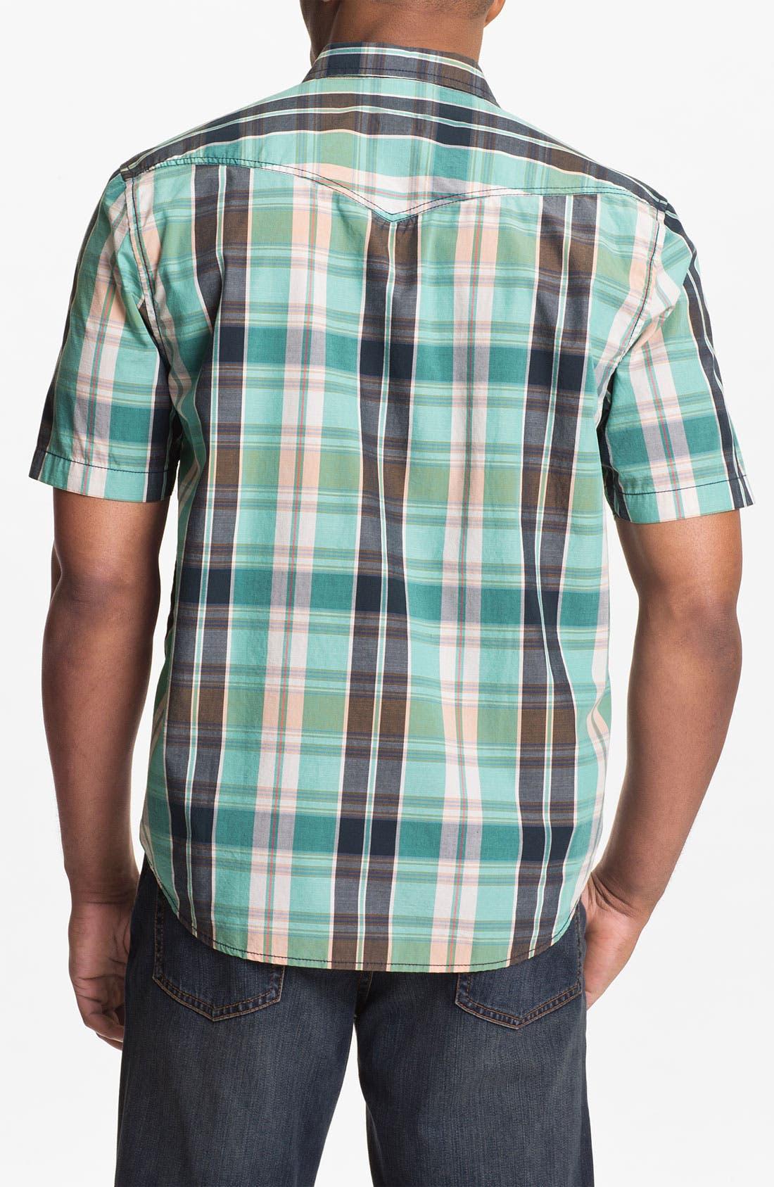 Alternate Image 2  - Tommy Bahama Denim 'Pescadero Plaid' Sport Shirt