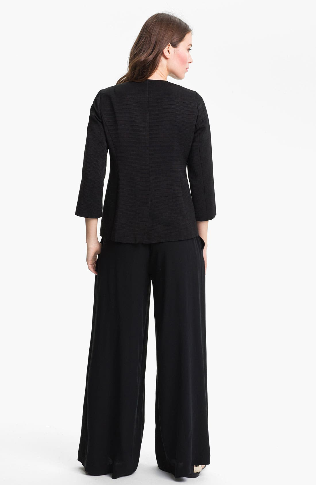 Alternate Image 3  - Eileen Fisher Three Quarter Sleeve Jacket