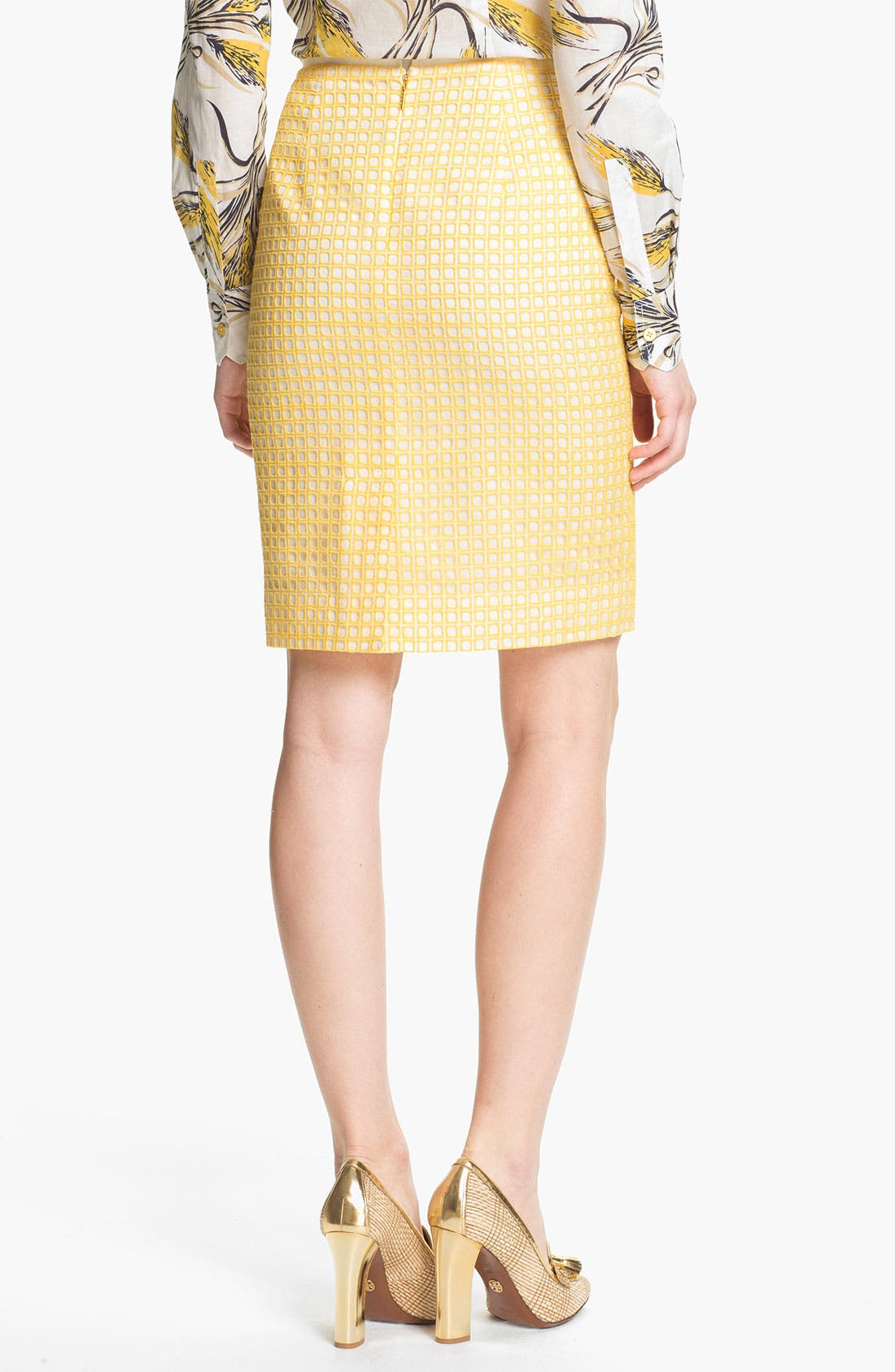 Alternate Image 2  - Tory Burch 'Uma' Silk Skirt