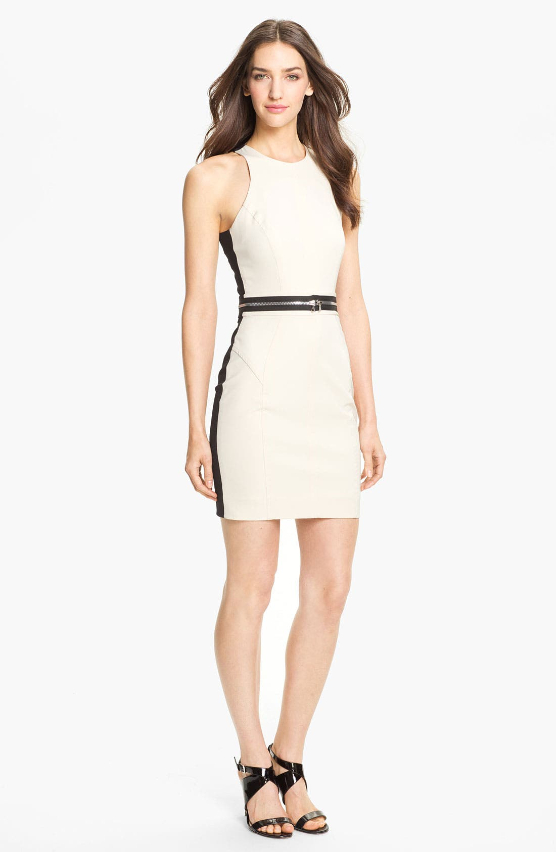 Alternate Image 1 Selected - Milly Cutaway Stretch Sheath Dress