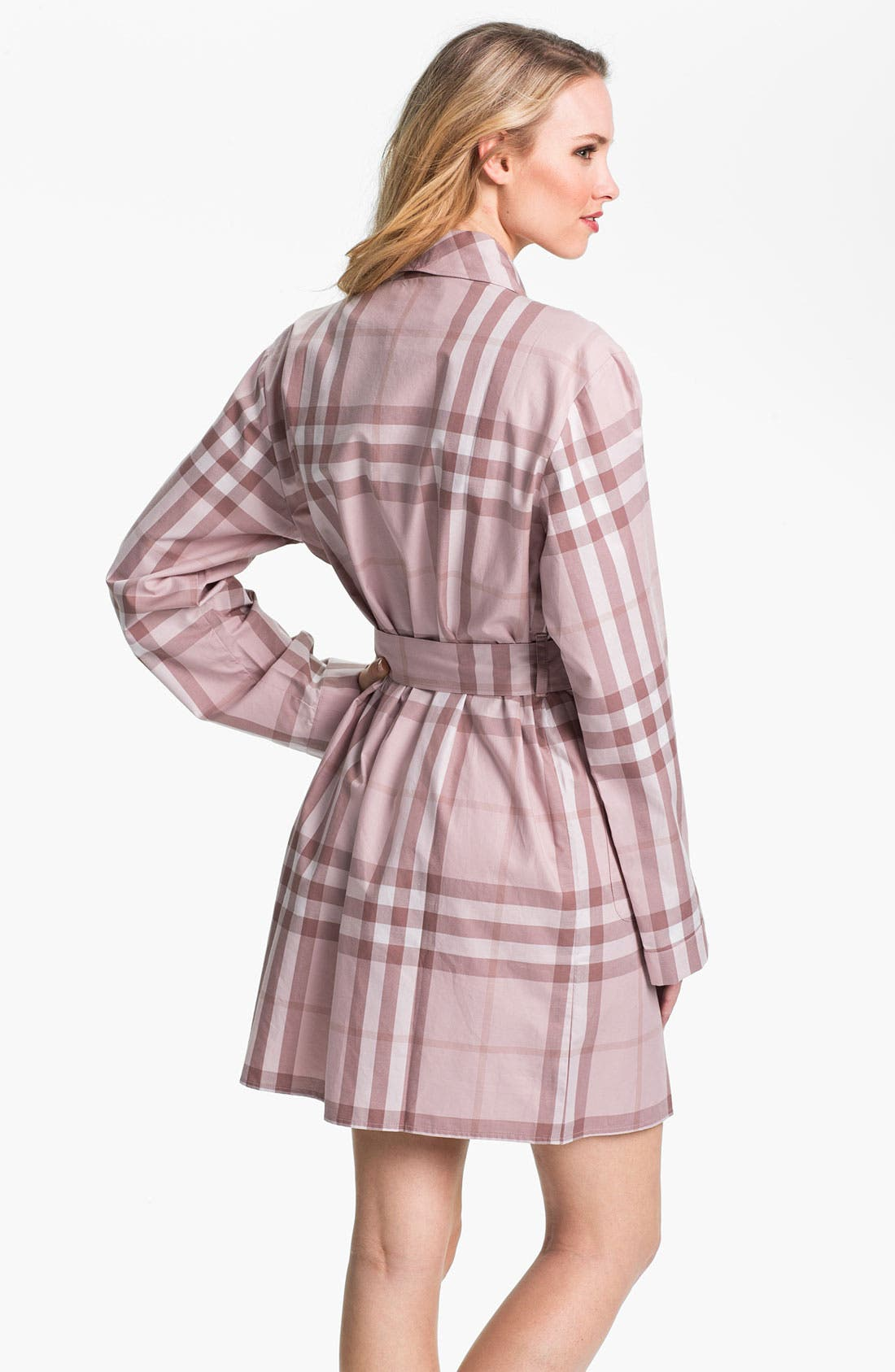 Alternate Image 2  - Burberry Check Robe