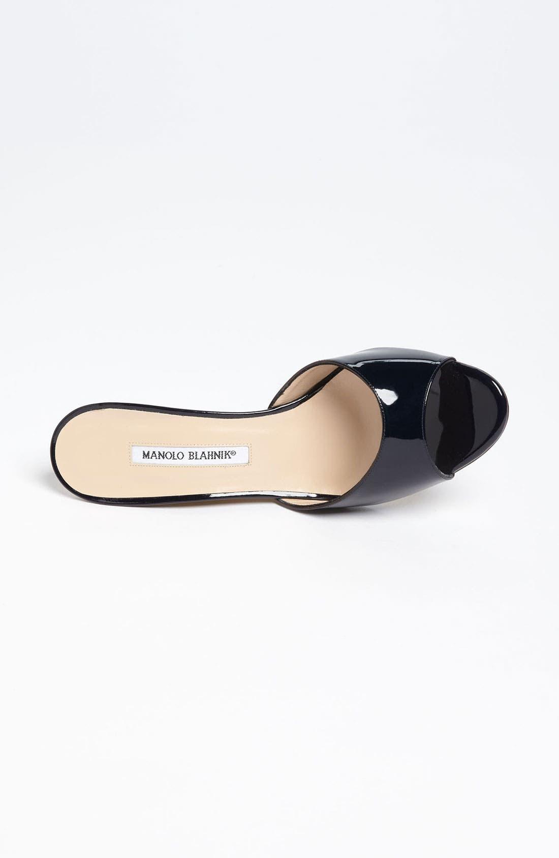 Alternate Image 3  - Manolo Blahnik 'Falsonol' Sandal