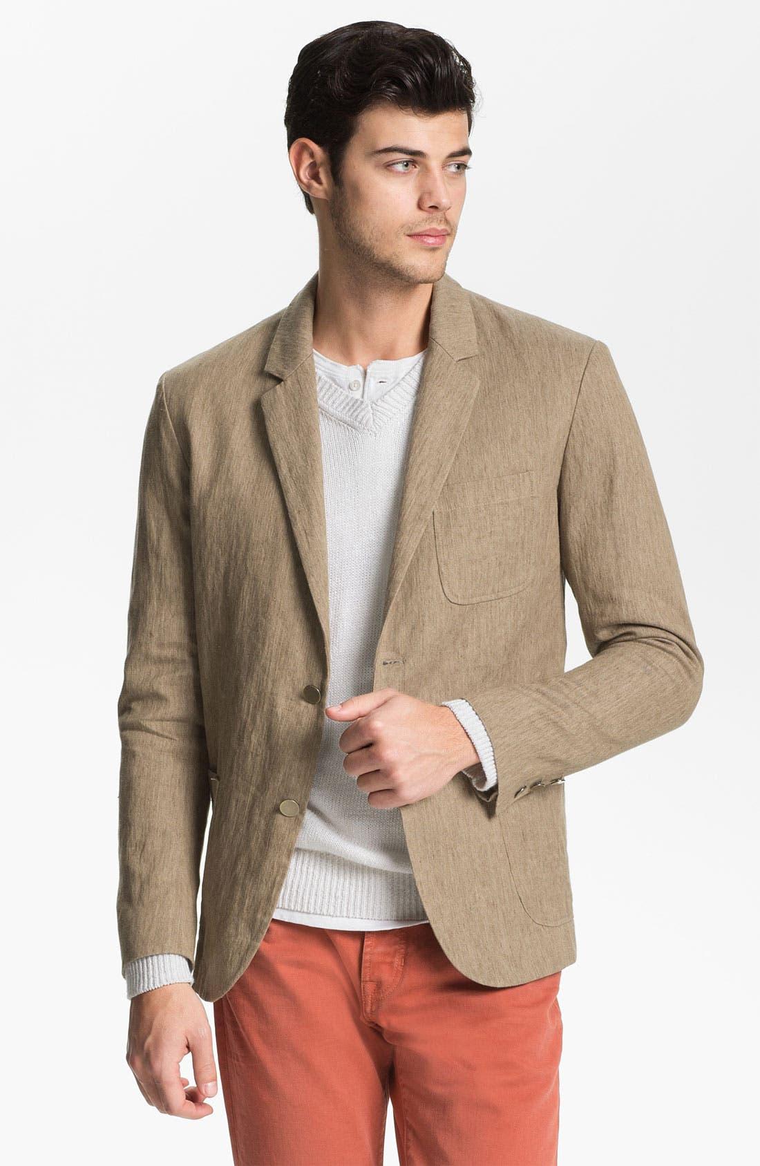 Main Image - Vince Linen & Cotton Blazer