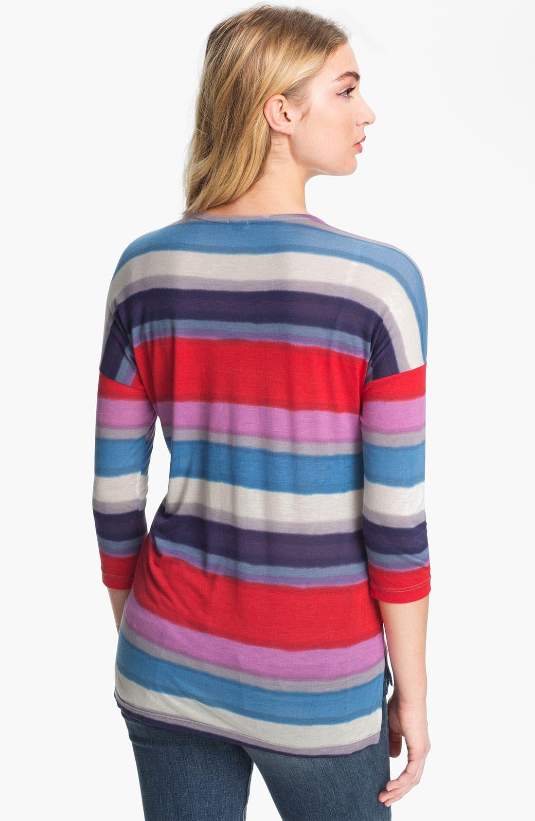 Alternate Image 2  - Splendid Stripe Drop Shoulder Top