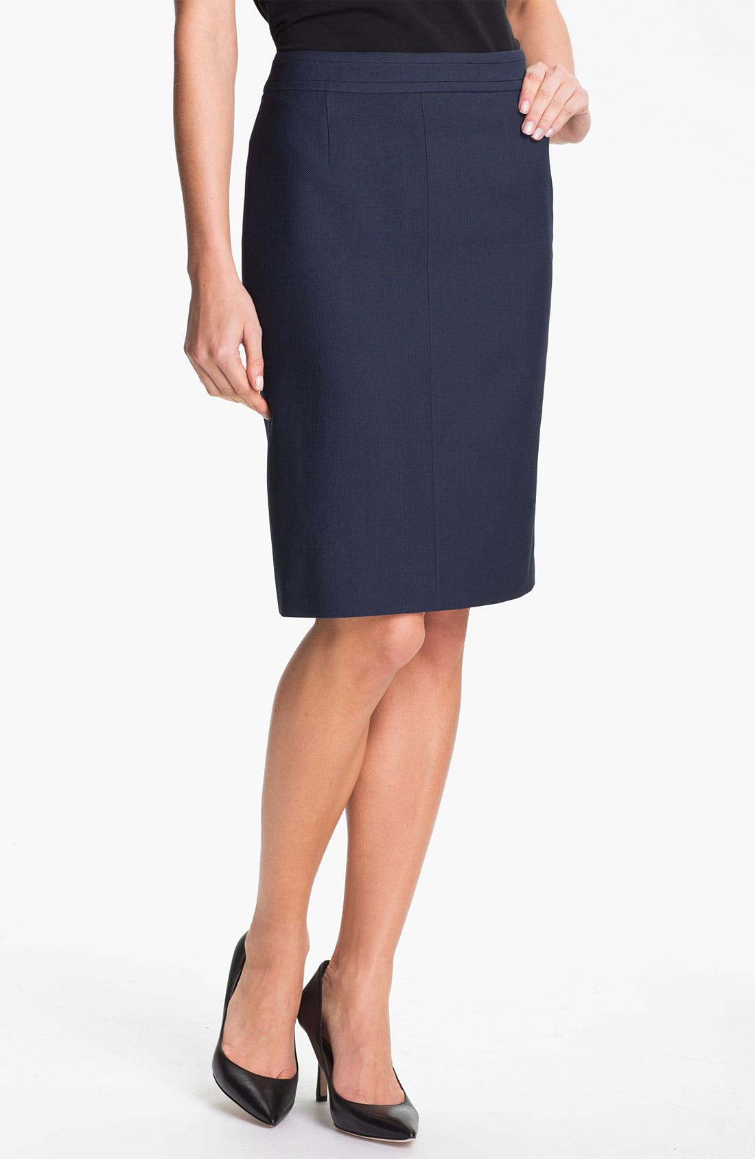 Alternate Image 1 Selected - BOSS Black 'Venovi' Skirt