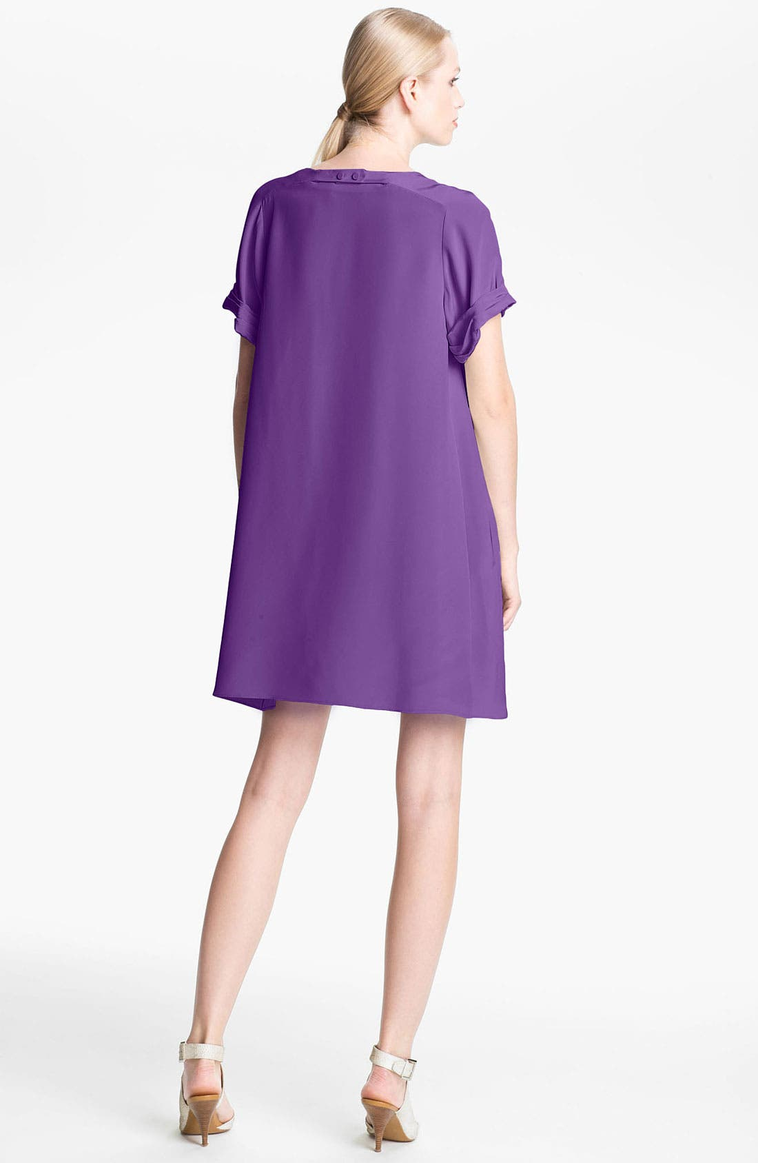 Alternate Image 2  - 3.1 Phillip Lim Pleated Sleeve Silk Dress