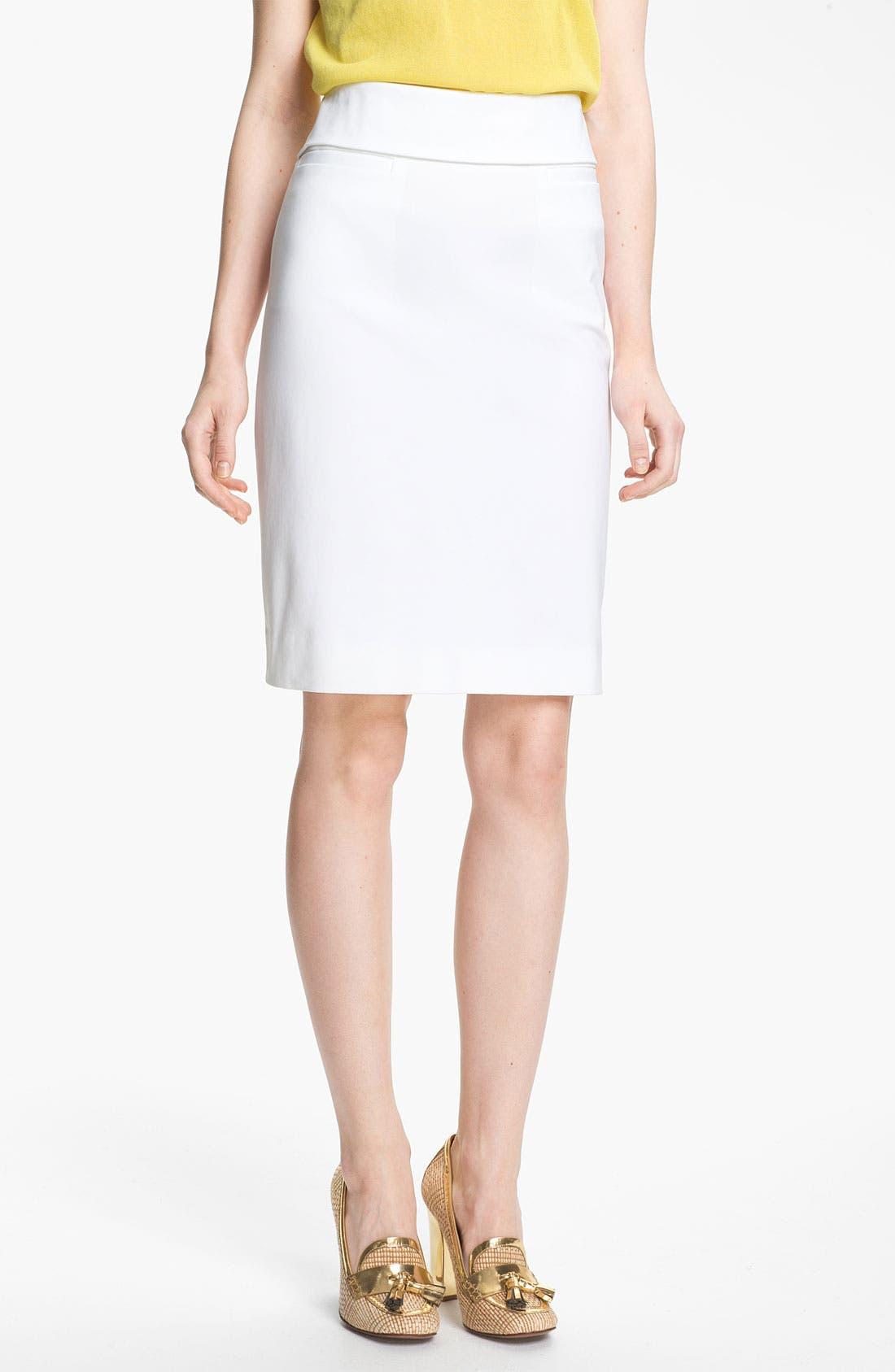 Alternate Image 1 Selected - Tory Burch 'Isabella' Skirt