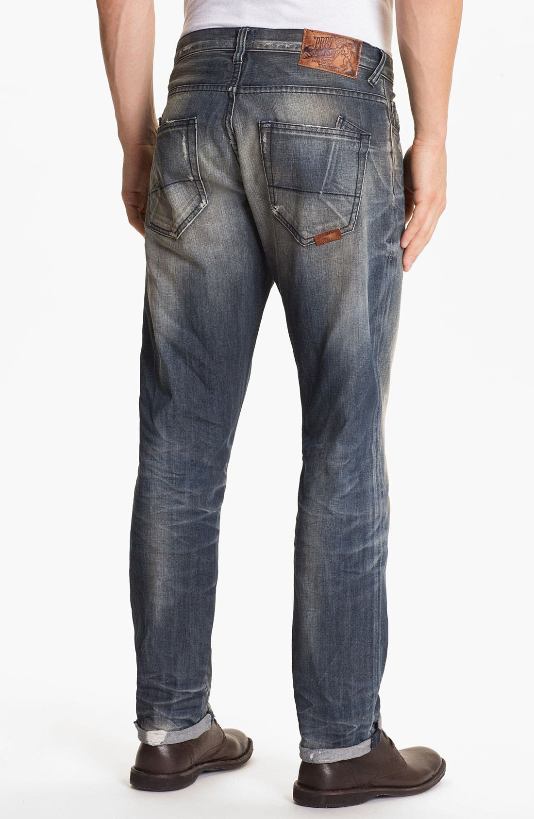 Alternate Image 1 Selected - PRPS 'Terra Nova Rambler' Slim Fit Jeans (Indigo)