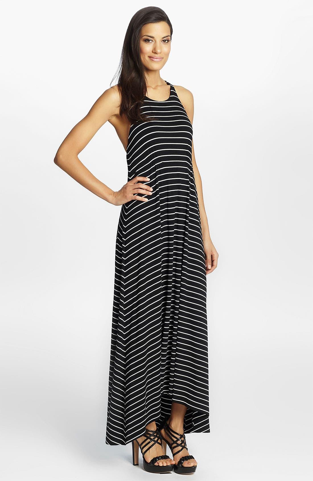 Alternate Image 1 Selected - Cynthia Steffe 'Maya' Stripe Maxi Dress