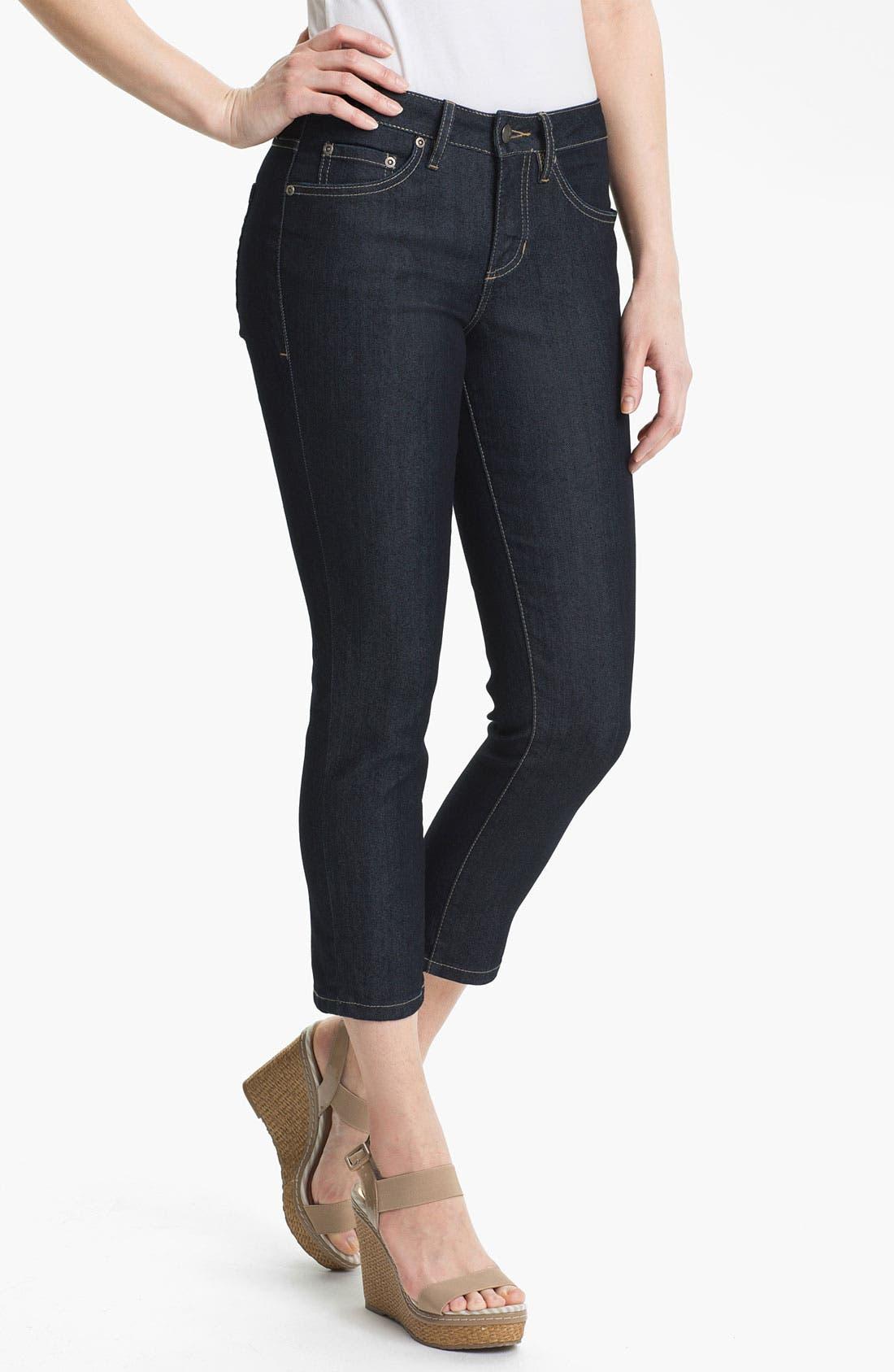 Alternate Image 1 Selected - Jag Jeans 'Reggie' Slim Crop Jeans