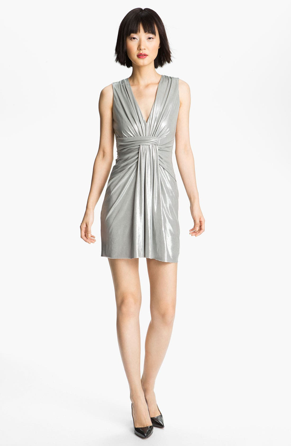 Alternate Image 1 Selected - B44 Dressed by Bailey 44 'Silver Shark' Draped Dress