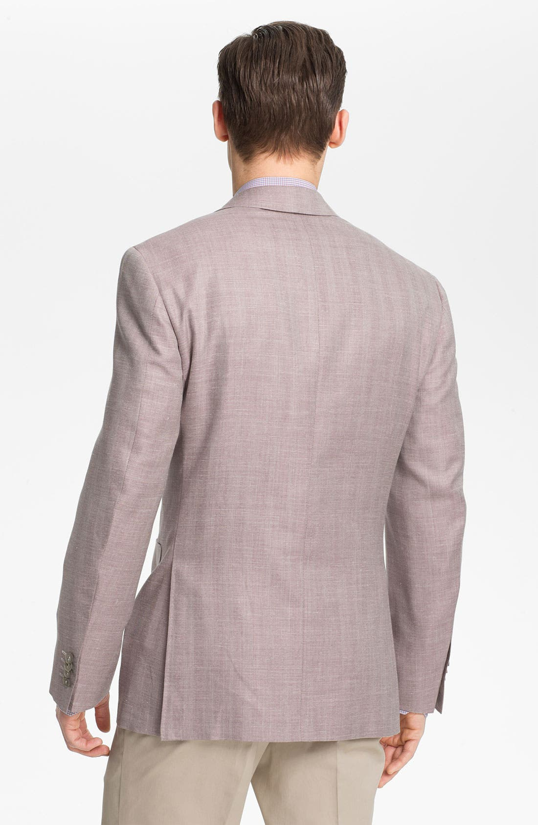 Alternate Image 2  - Canali Herringbone Sportcoat